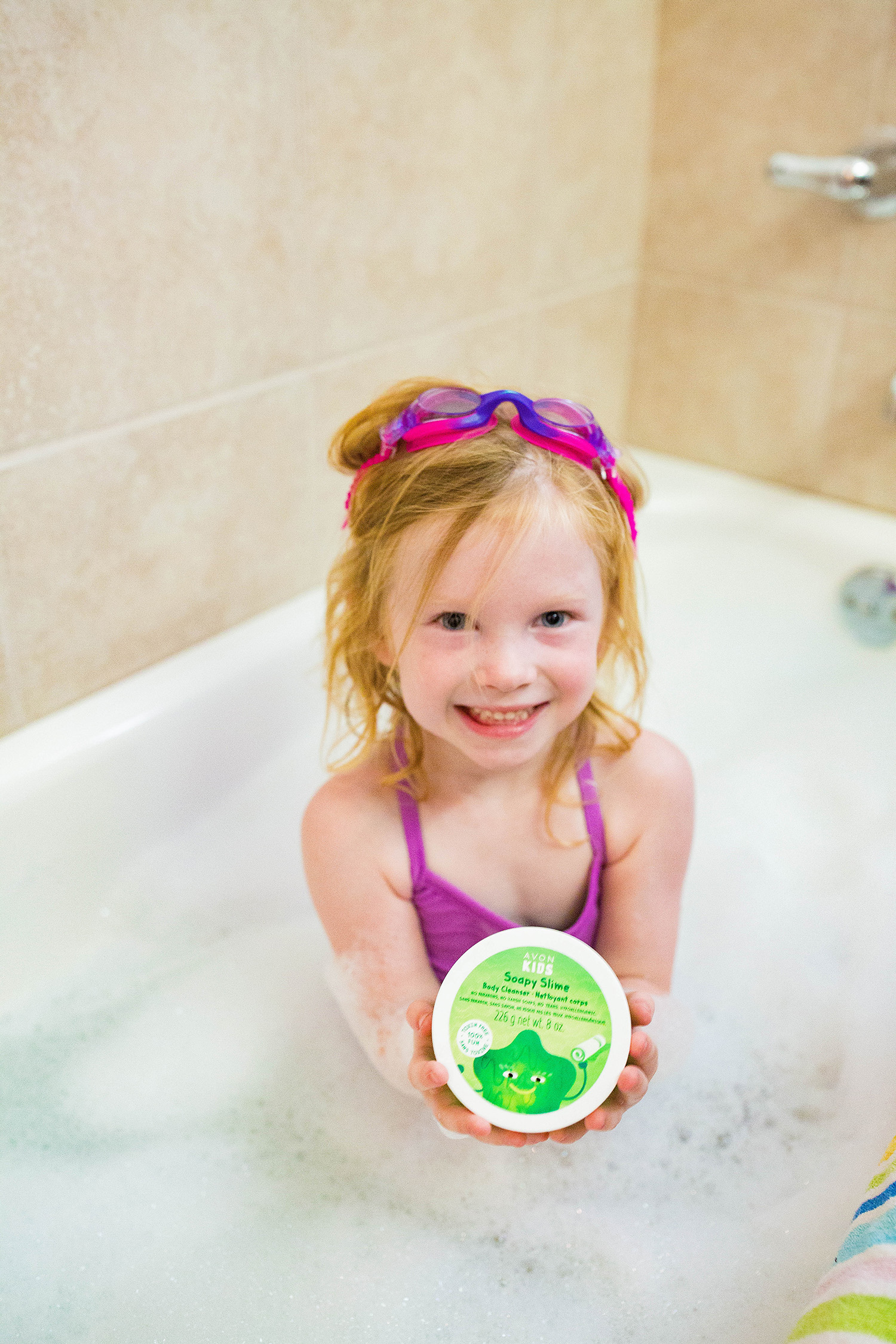 Paraben Free Bath Products: This new soapy slime from avon kids is PERFECT for older kids!