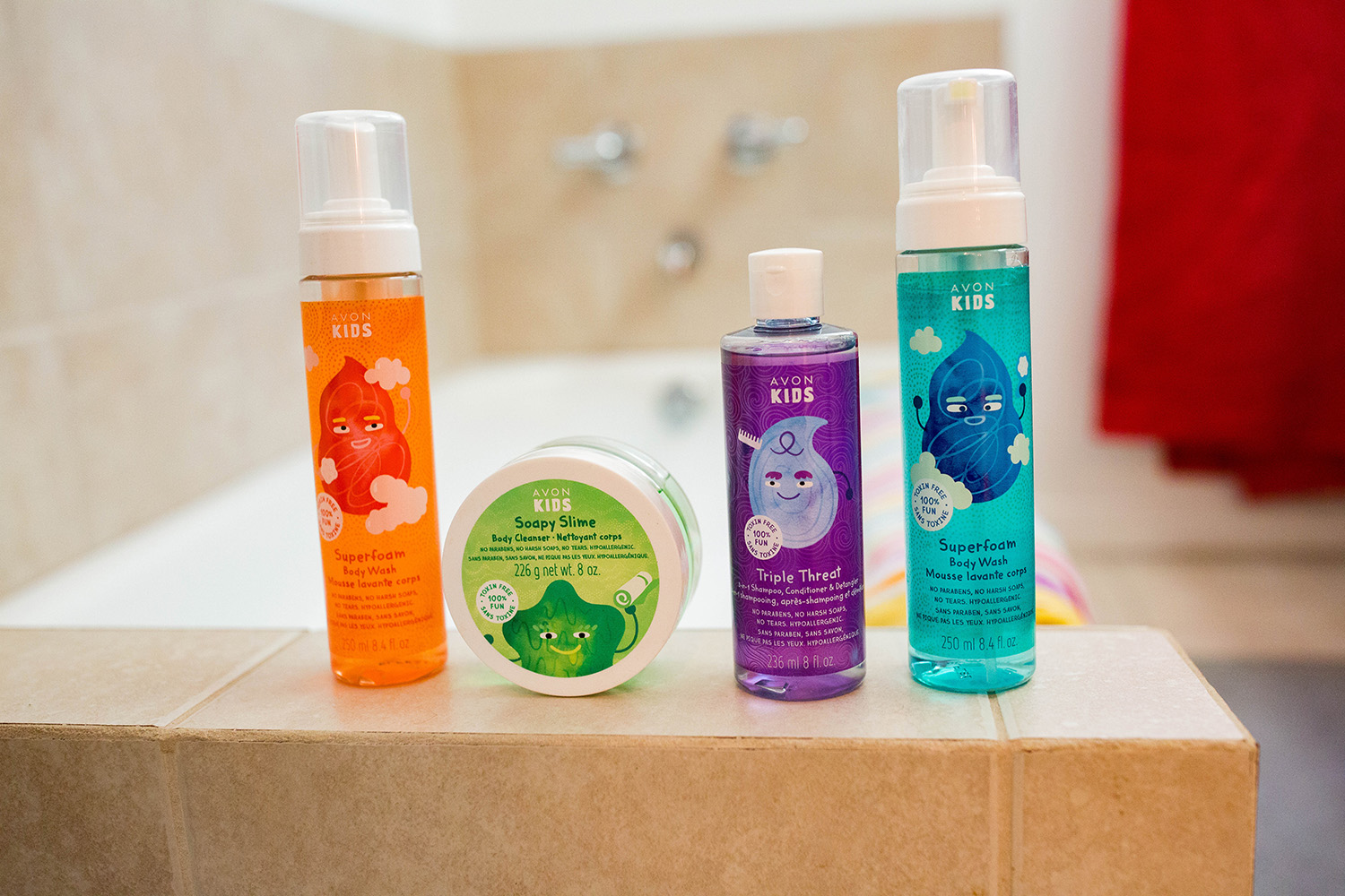 Is Bath Time Only For Babies? Why we still do bath time as part of our evening routine, accompanied by our favorite new paraben free products from Avon Kids.