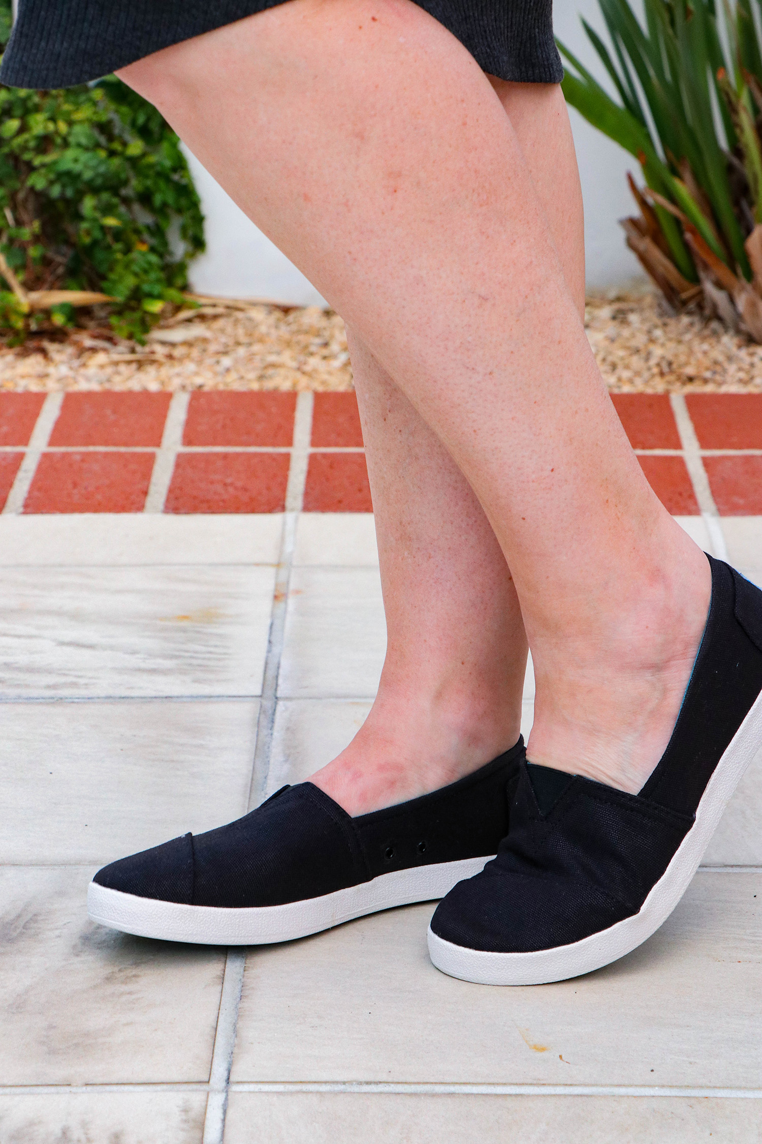 Stitch Fix Review September 2018: Looking for great fall sneakers? I love these TOMS Avalon Coated Canvas Sneakers!