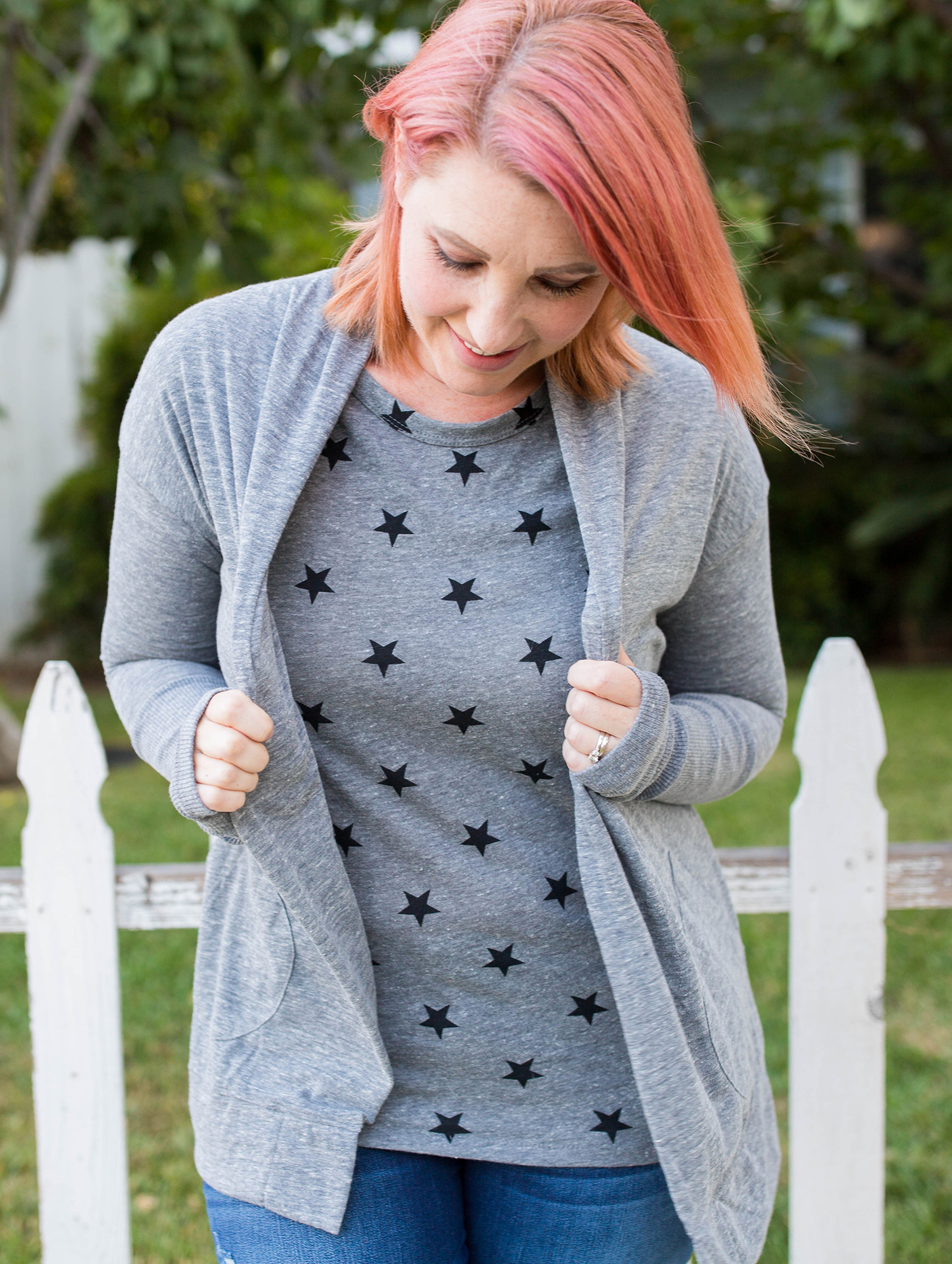 Amazon Prime Wardrobe: Have you tried it yet? I love this grey cardigan!