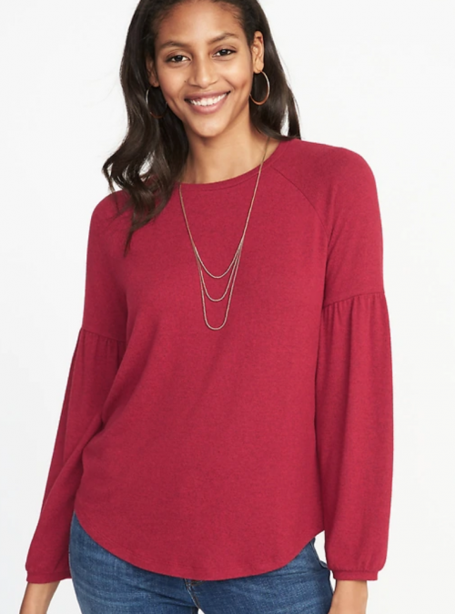 Red Top — Size Medium