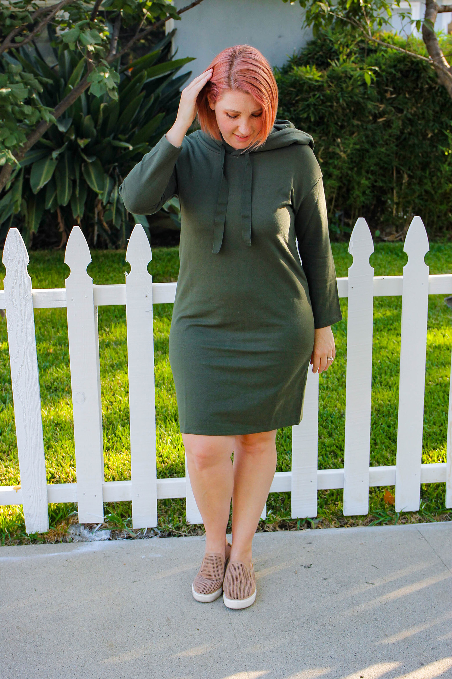 Amazon Prime Wardrobe Find: This athleisure dress is perfect for traveling or casual fall outfits, and it's only $30!