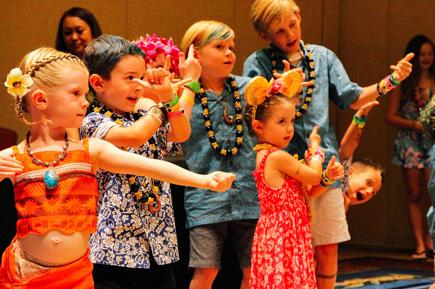 Hula Lessons at Aulani are a total blast for kids of all ages!
