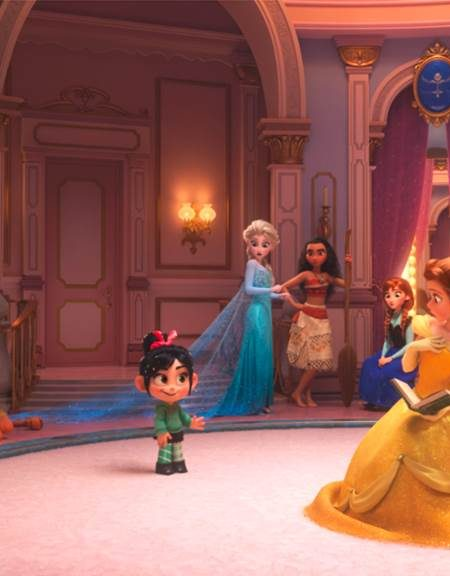Ralph Breaks the Internet: The Princesses