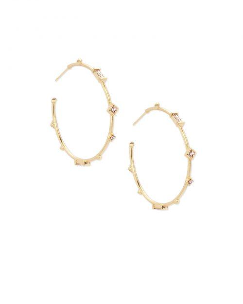 Kendra Scott Winter Hoop Earrings