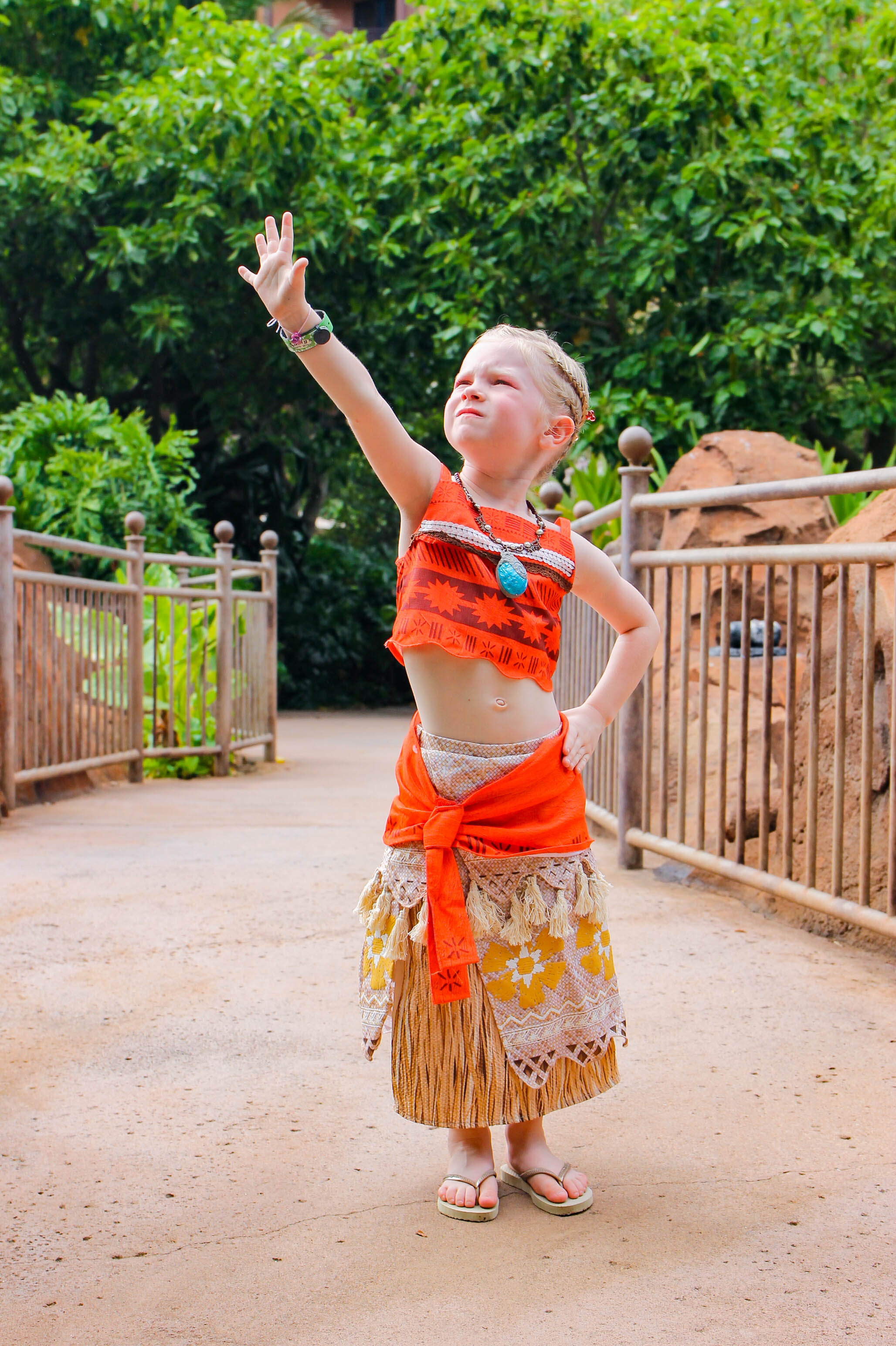 This Moana Makeover from Painted Sky at Aulani is THE BEST!