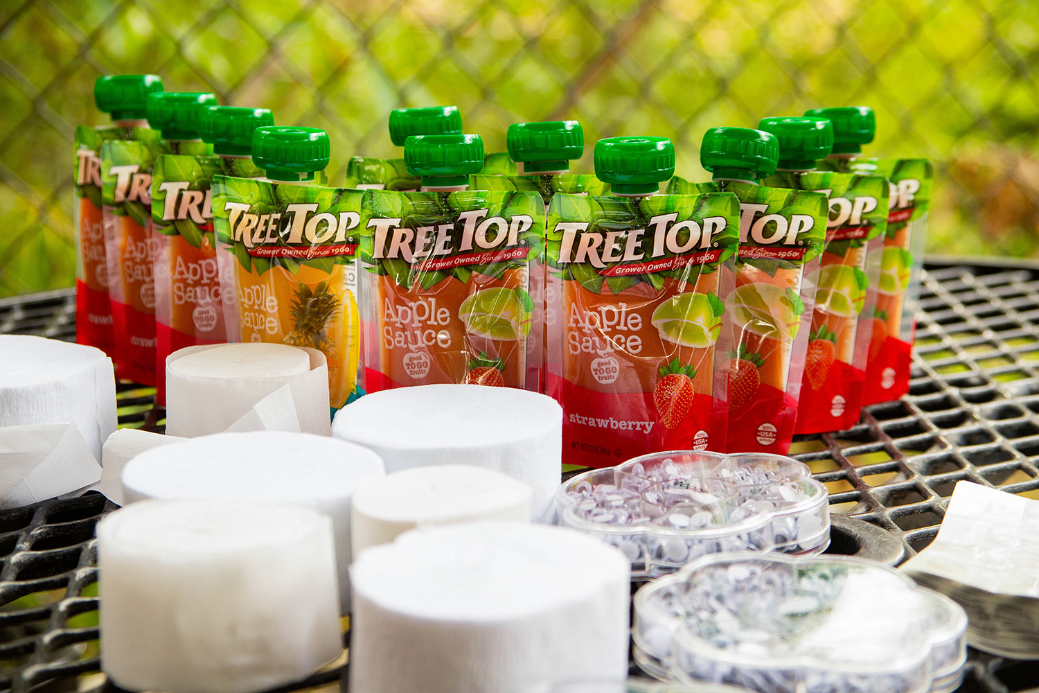 The Tree Top Apple Sauce pouches are delish, and perfect for play date snacks!