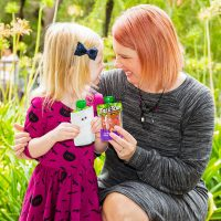 An Easy Halloween Craft and Giving Back with Tree Top