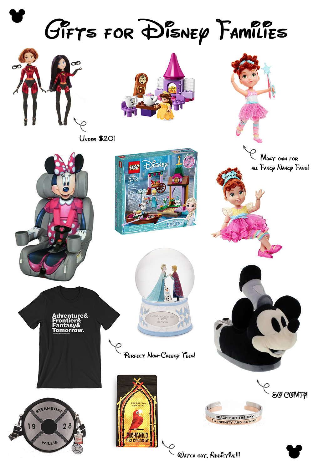 Looking for the perfect disney gifts for adults and kids? This Disney Gift Guide will help you find the ideal present for every member of your Disney Family!