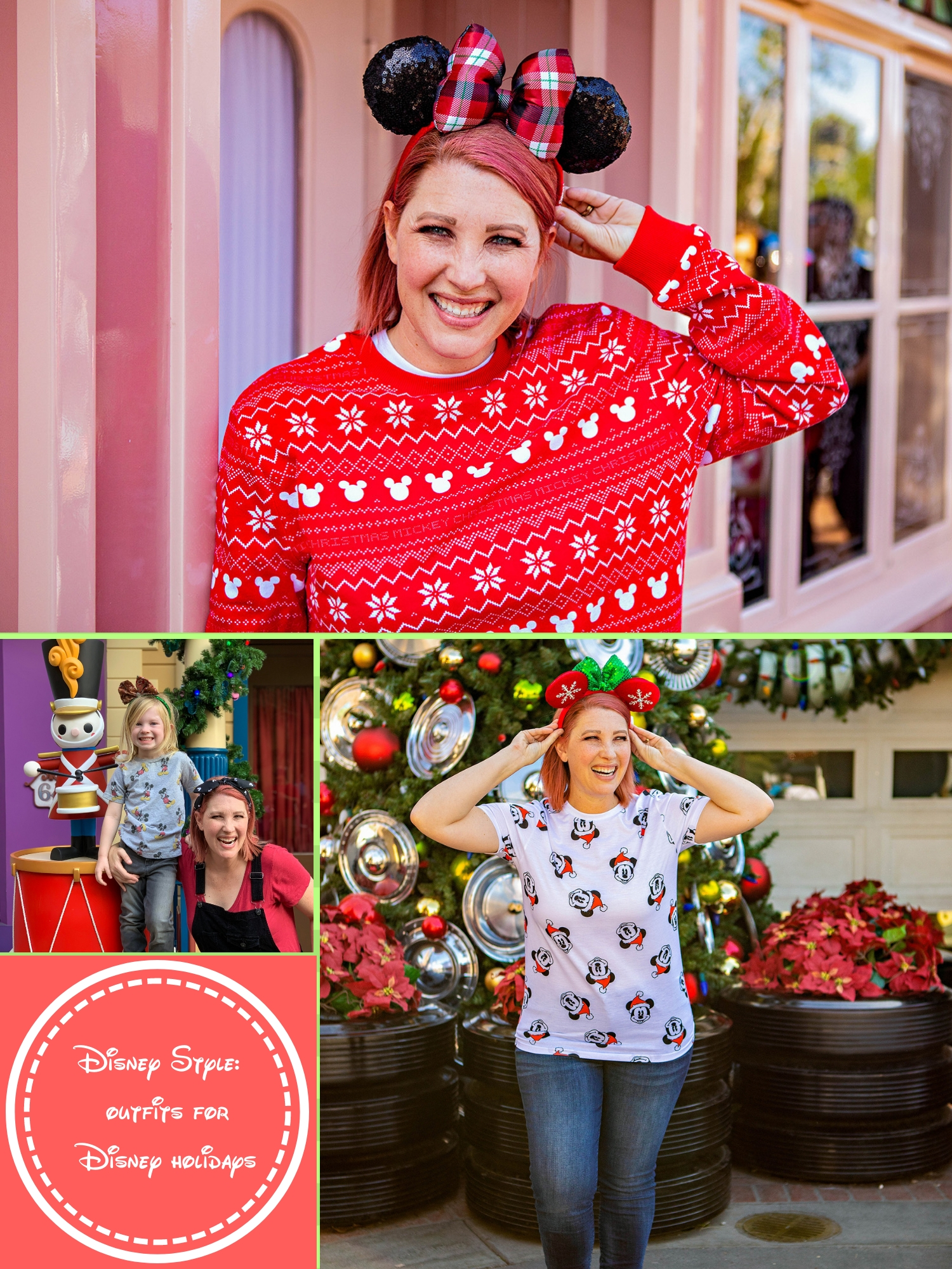 Visiting Disneyland Christmas 2018? These Disneyland outfits are PERFECT for days at the park!