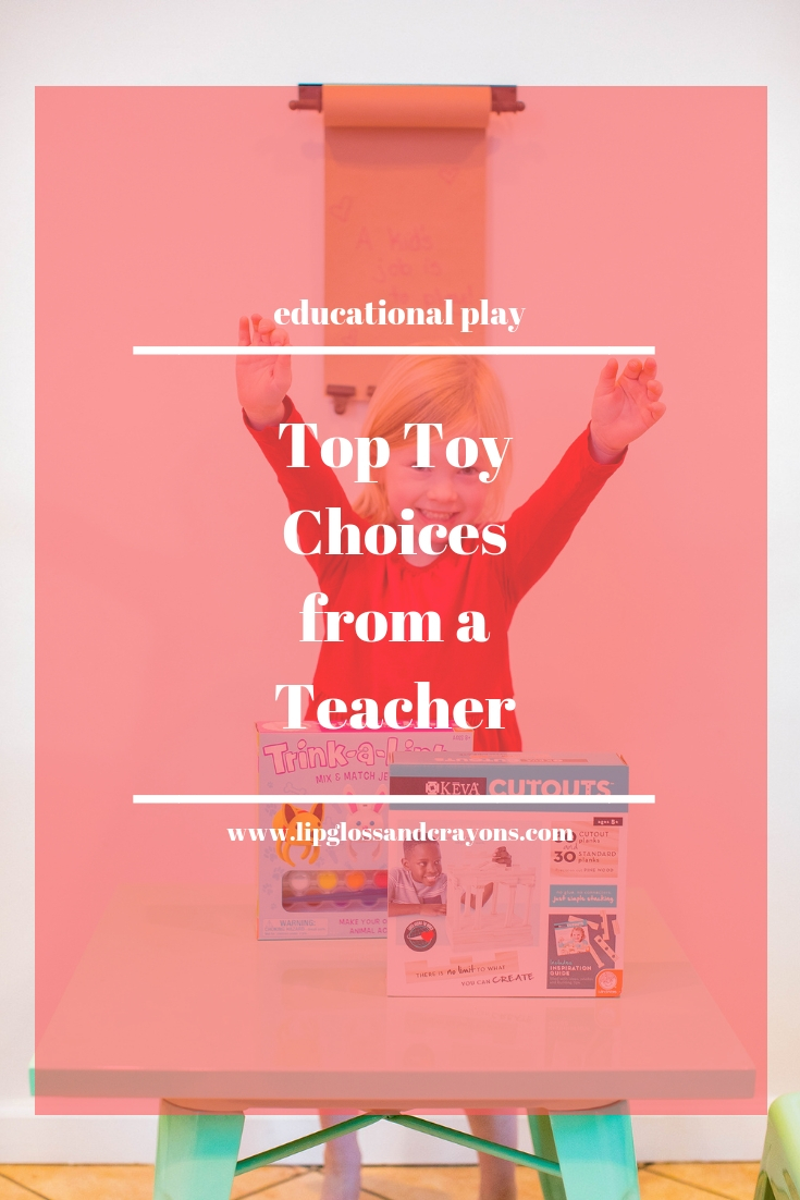 Looking for the best educational toys? This teacher is sharing her top recommendations including Keva Planks and Trink a Links!