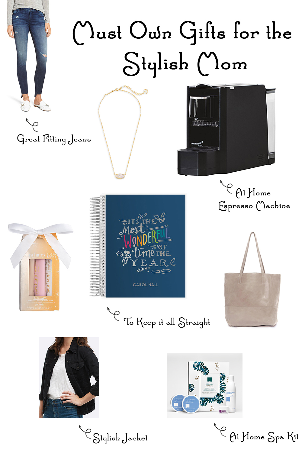 Looking for the perfect gifts for the stylish mom in your life? This Stylish Mom Gift Guide will help you find the ideal present for the most important lady in your life!