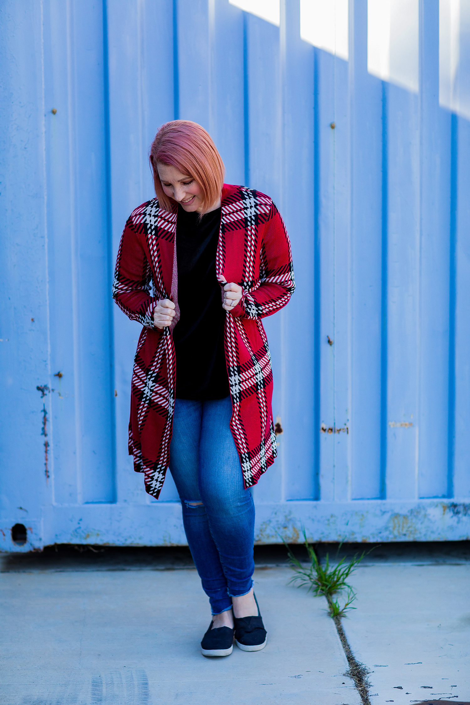 Stitch Fix Review January 2019: This Leo & Nicole Galaodia Open Cardigan is perfect for casual outfits and layers like a dream!