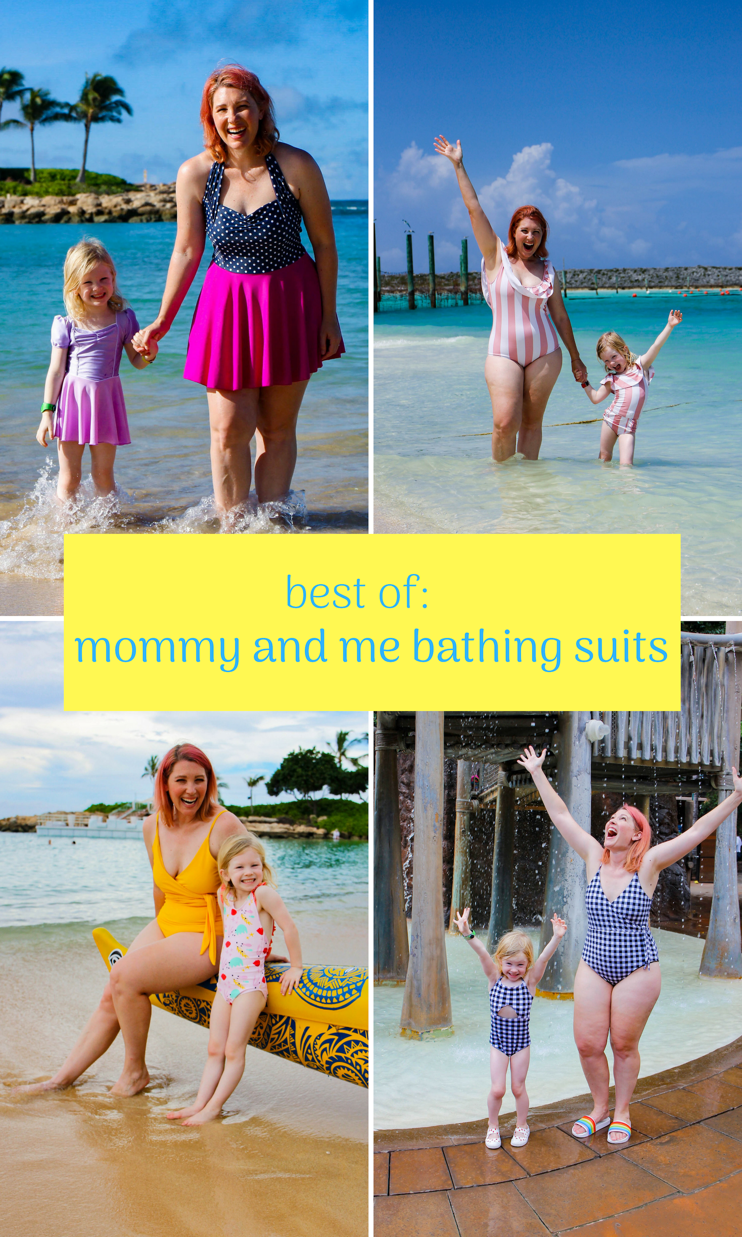 mother daughter matching swimsuits