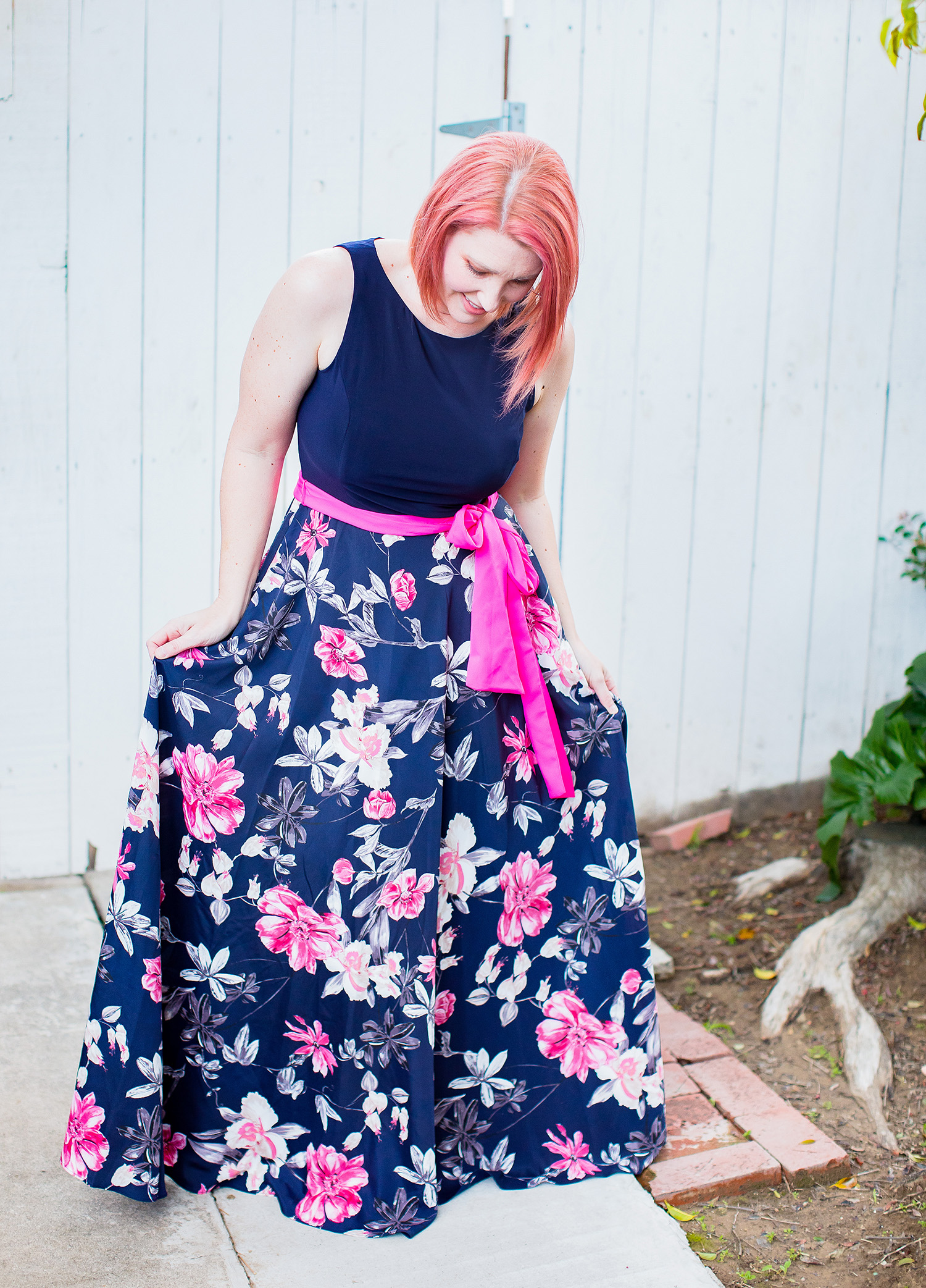 Stitch Fix Review March 2019: This Eliza J Daytona Maxi Dress is perfect for casual spring outfits, and super flattering on a pear shaped body!