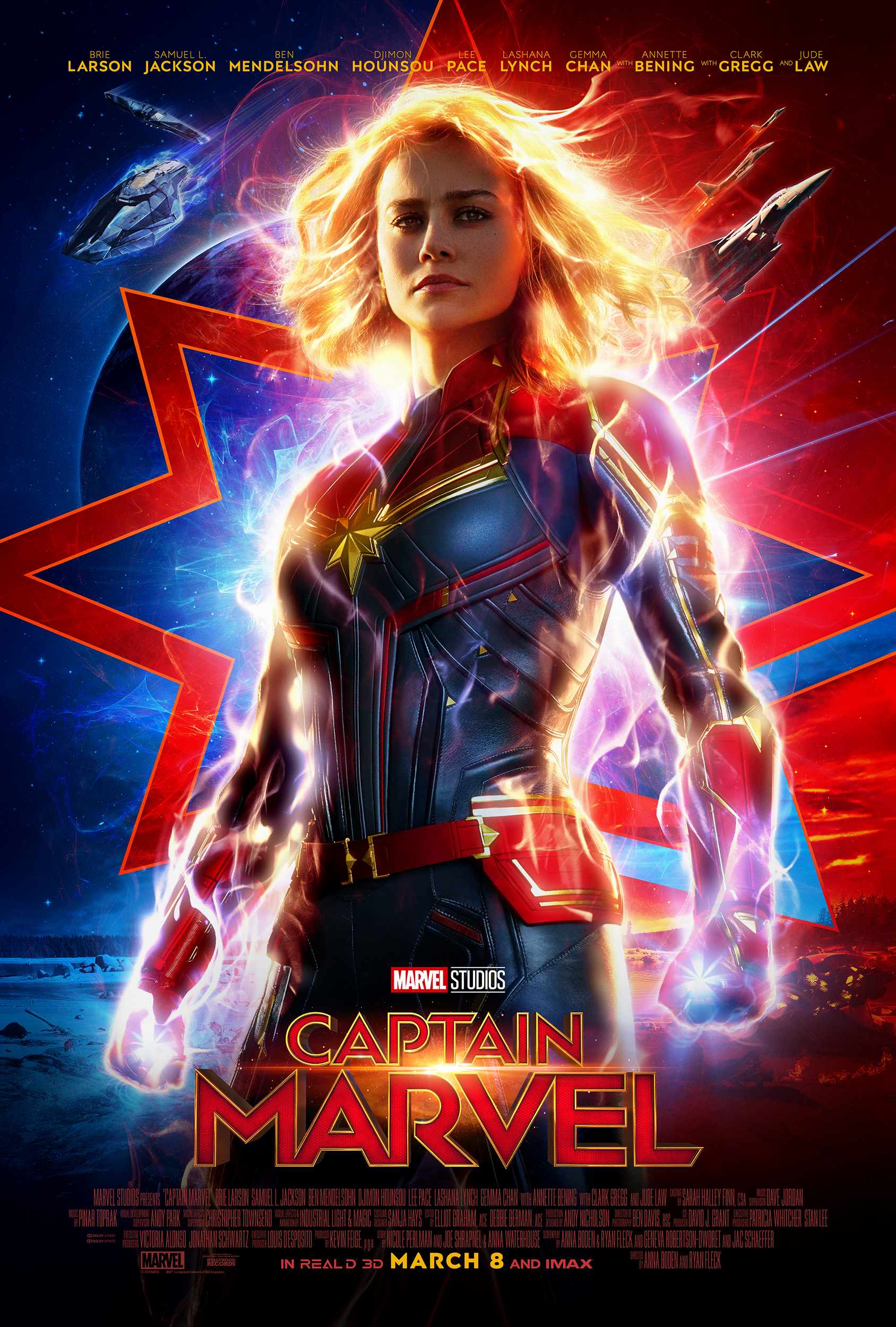 What I thought of THE Marvel female superhero.......who should see Captain Marvel and why.