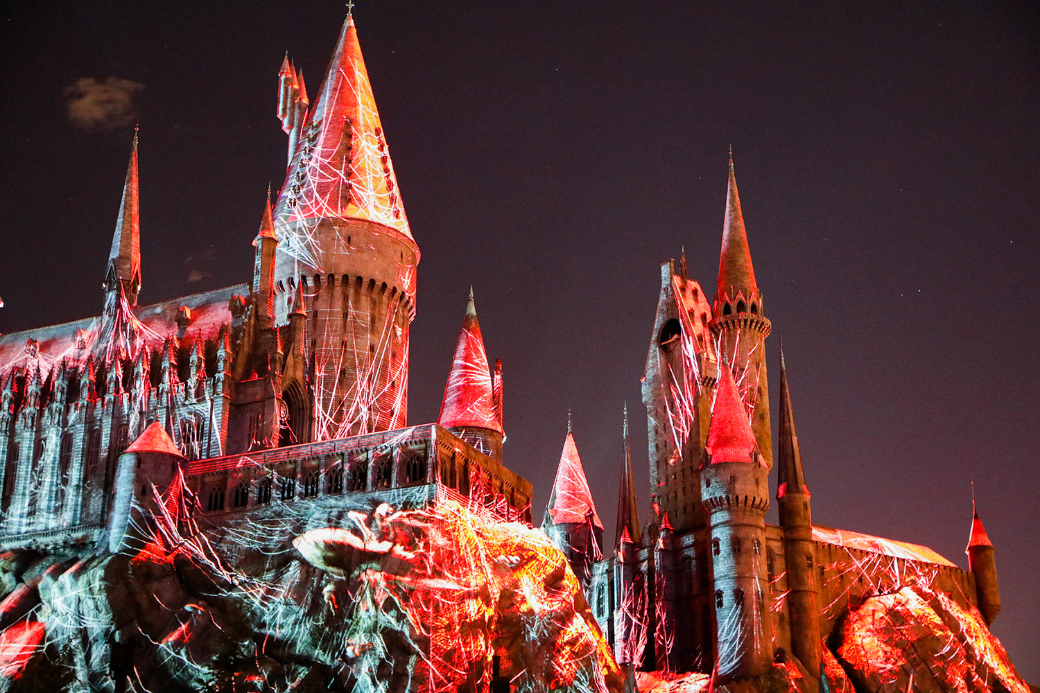 The Wizarding World of Harry Potter: the Dark Arts show is amazing!