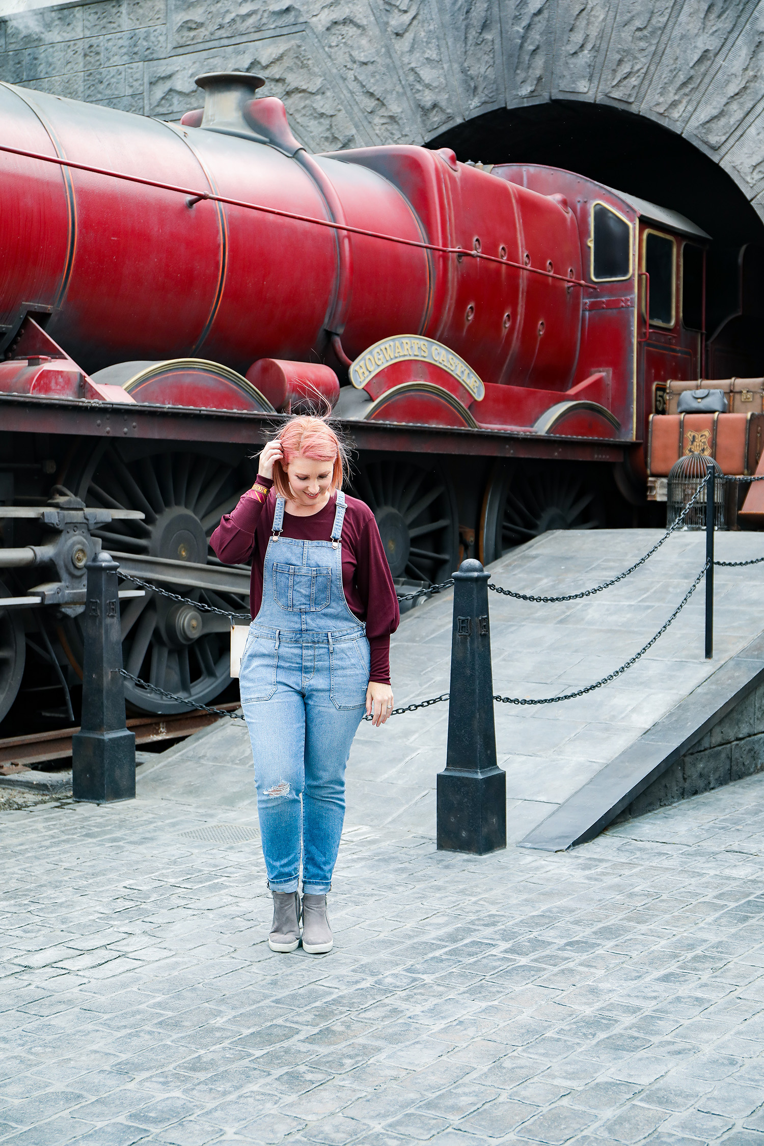 Visiting Harry Potter Land California (aka The Wizarding World of Harry Potter)? These are the BEST places to take pictures!