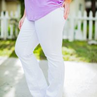 The Best White Jeans for Pear Shaped Bodies