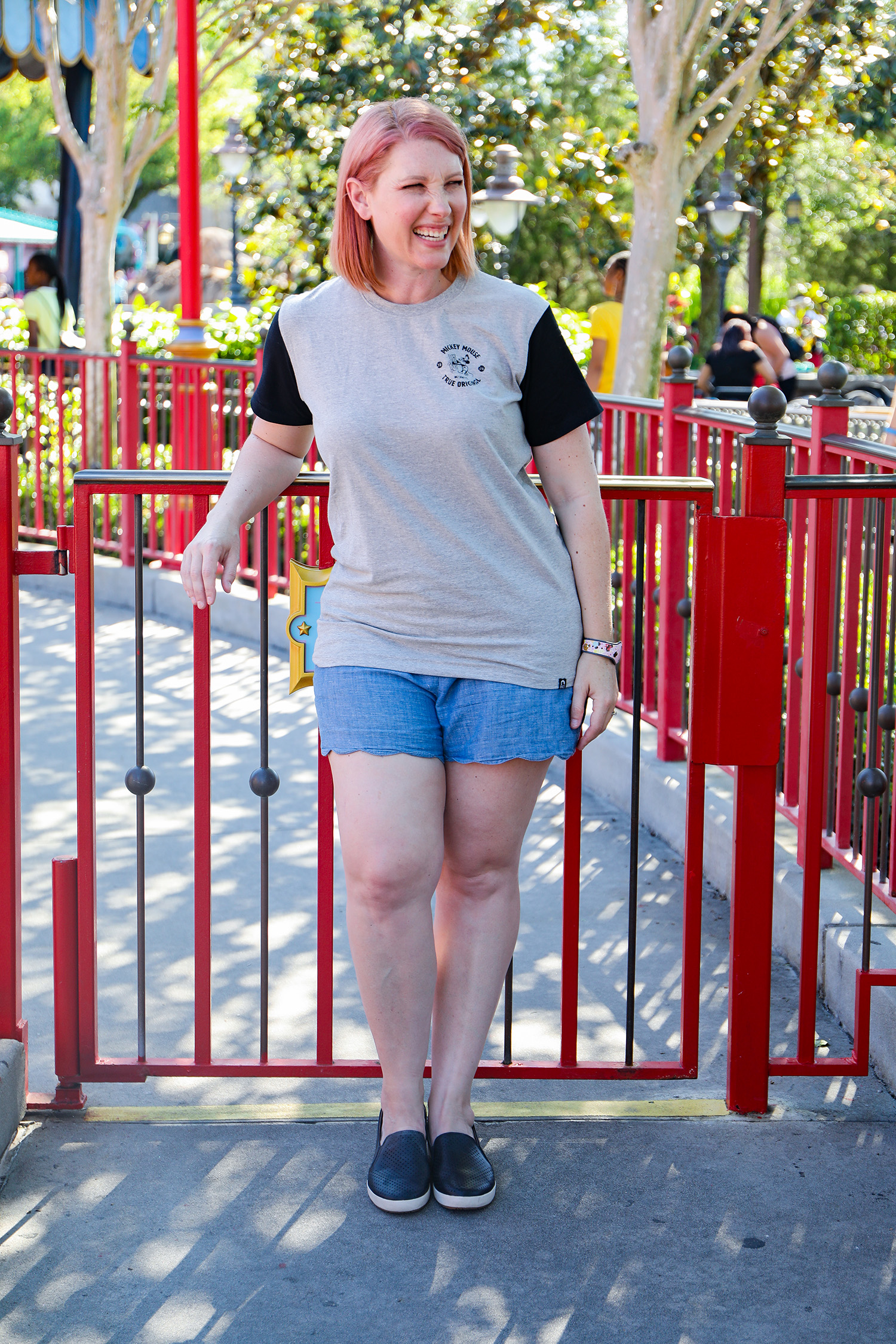 Disney World Outfits: This casual outfit is perfect for the Magic Kingdom!