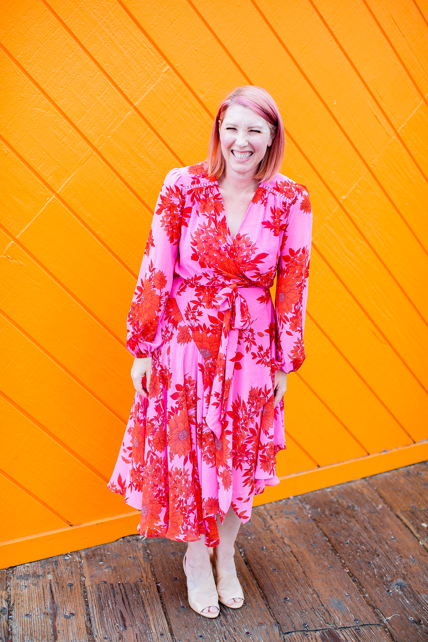 Cabi Spring: Blooming Blush.....isn't this pink dress perfect for spring?!?