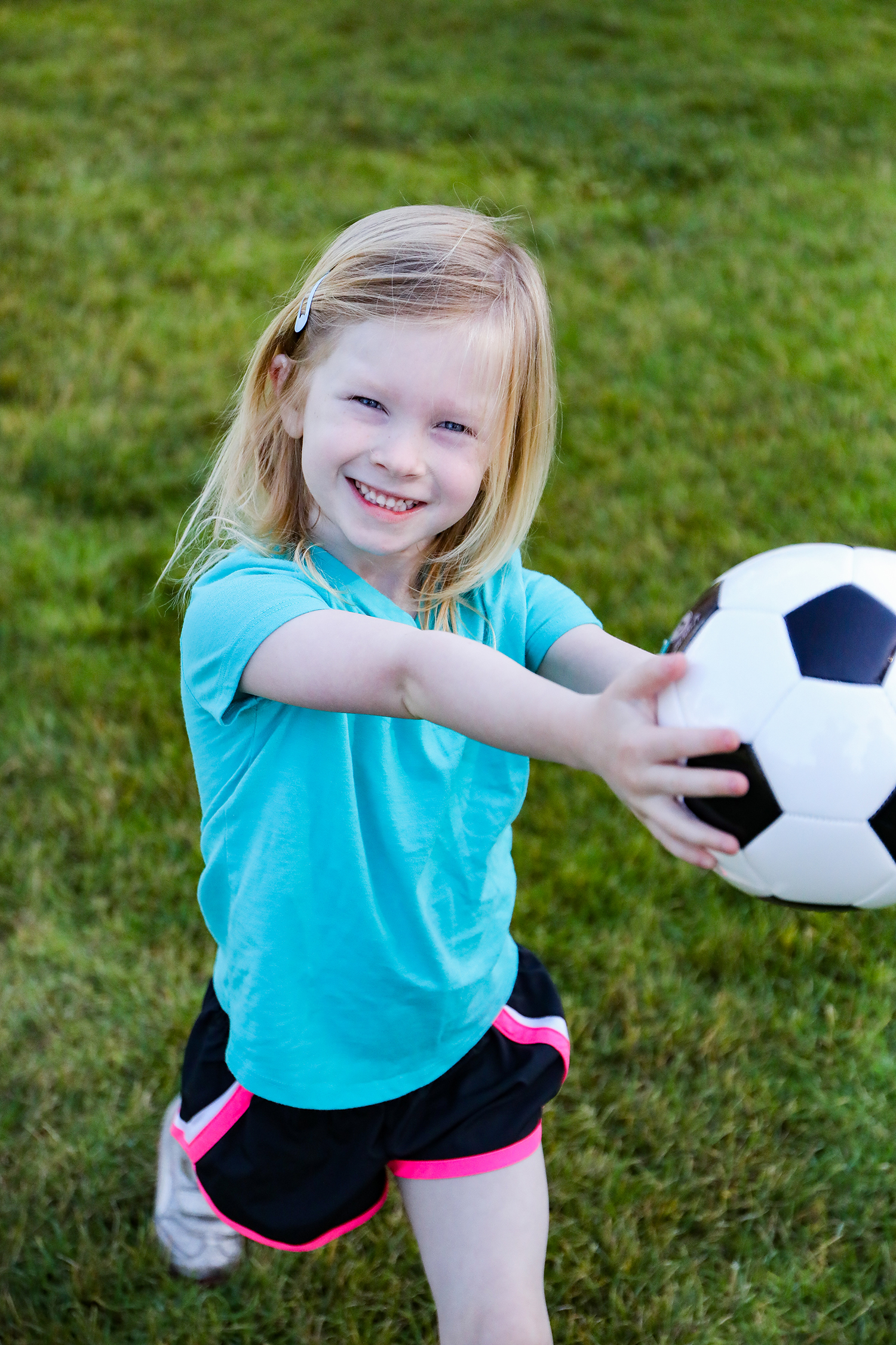 Girl Power: How this non-sporty mom is empowering her daughter and becoming a soccer mom........the five reasons organized sports empower young girls.