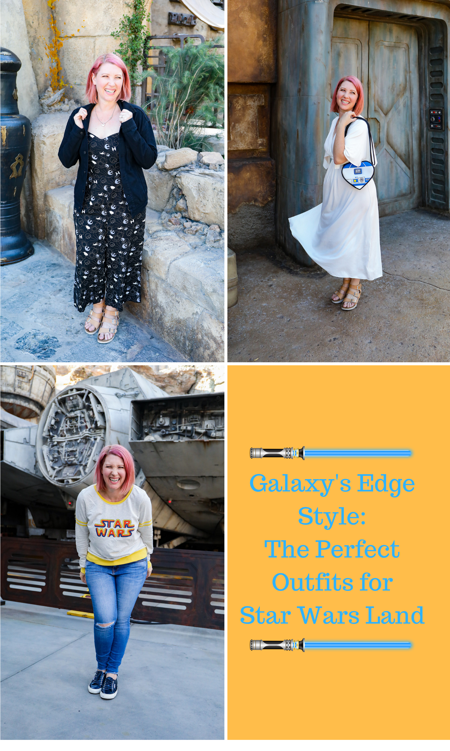 Looking for the best Disneyland Outfits to wear inside Galaxy's Edge? This style guide has you covered!