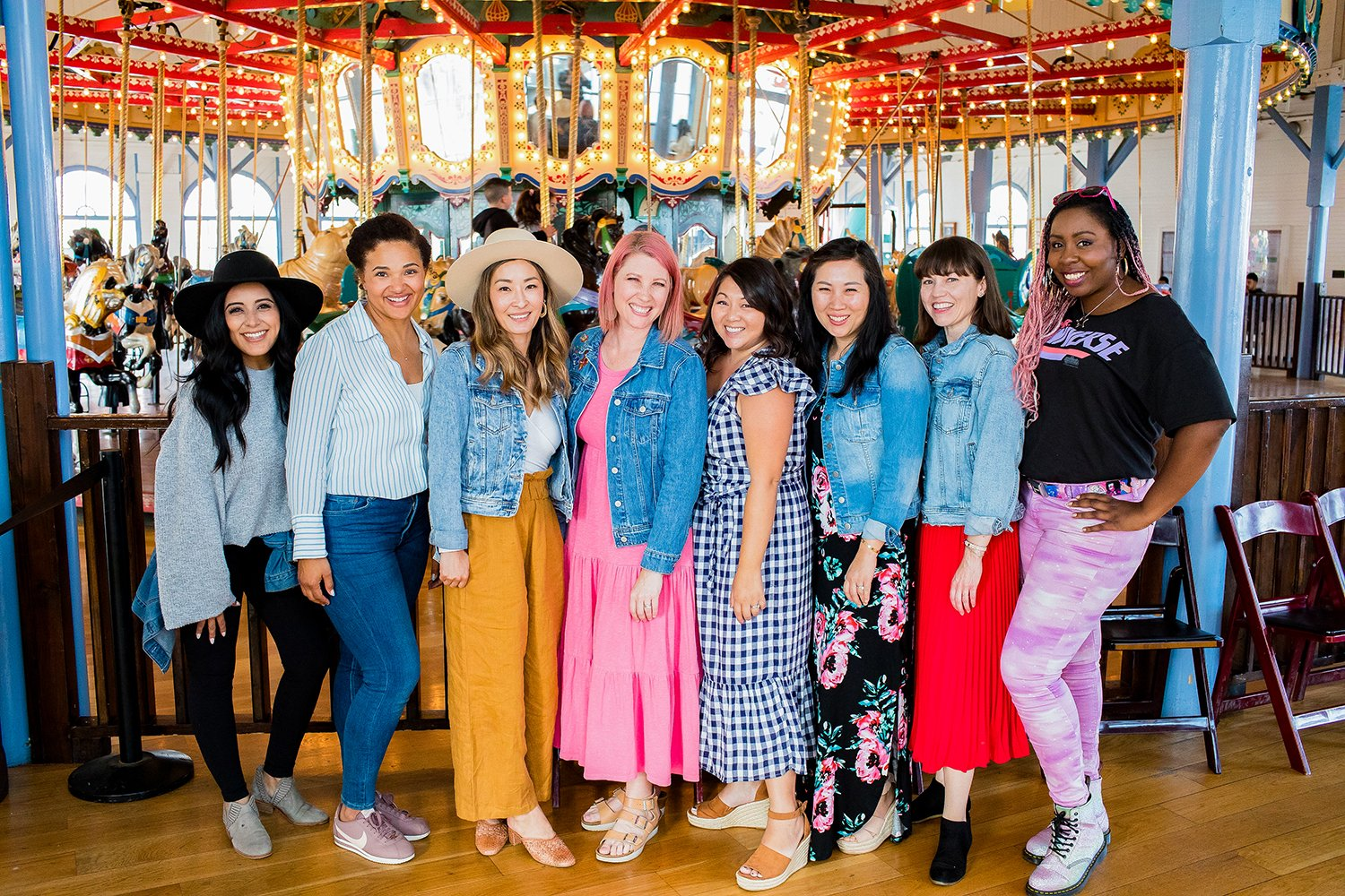 Santa Monica Carousel Party: This party location is a great place to host get togethers!