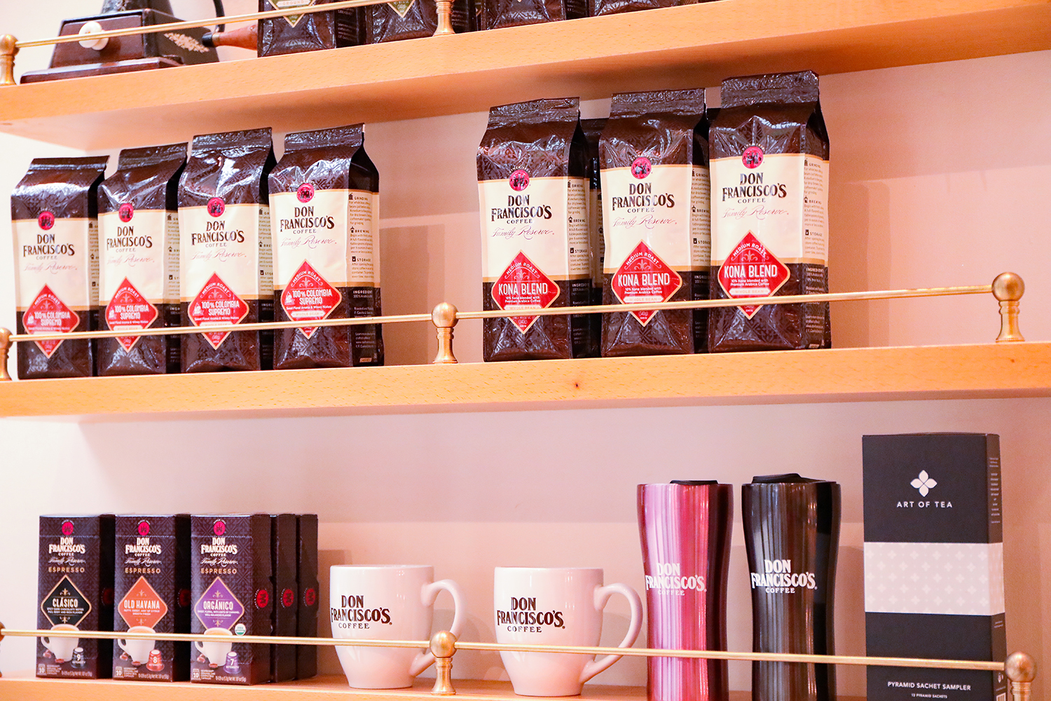 Looking for a great cup of coffee? This behind the scenes from the Don Francisco headquarters and visit to their cafe in Los Angeles is AMAZING!