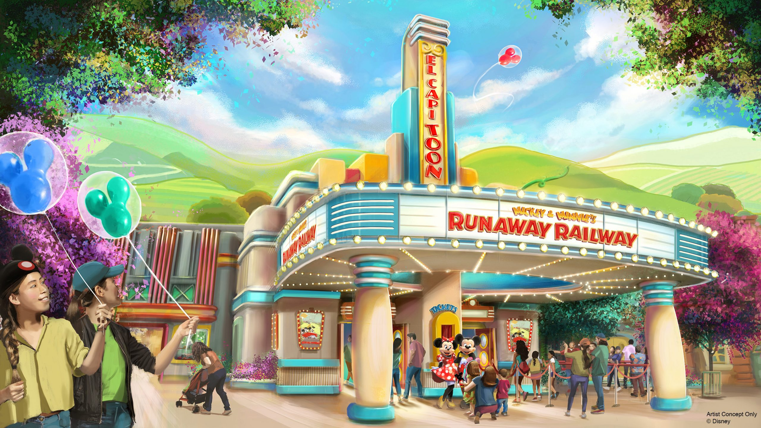 Looking for updates on Mickey and Minnie's Runaway Railway? These are the latest updates from the D23 expo!