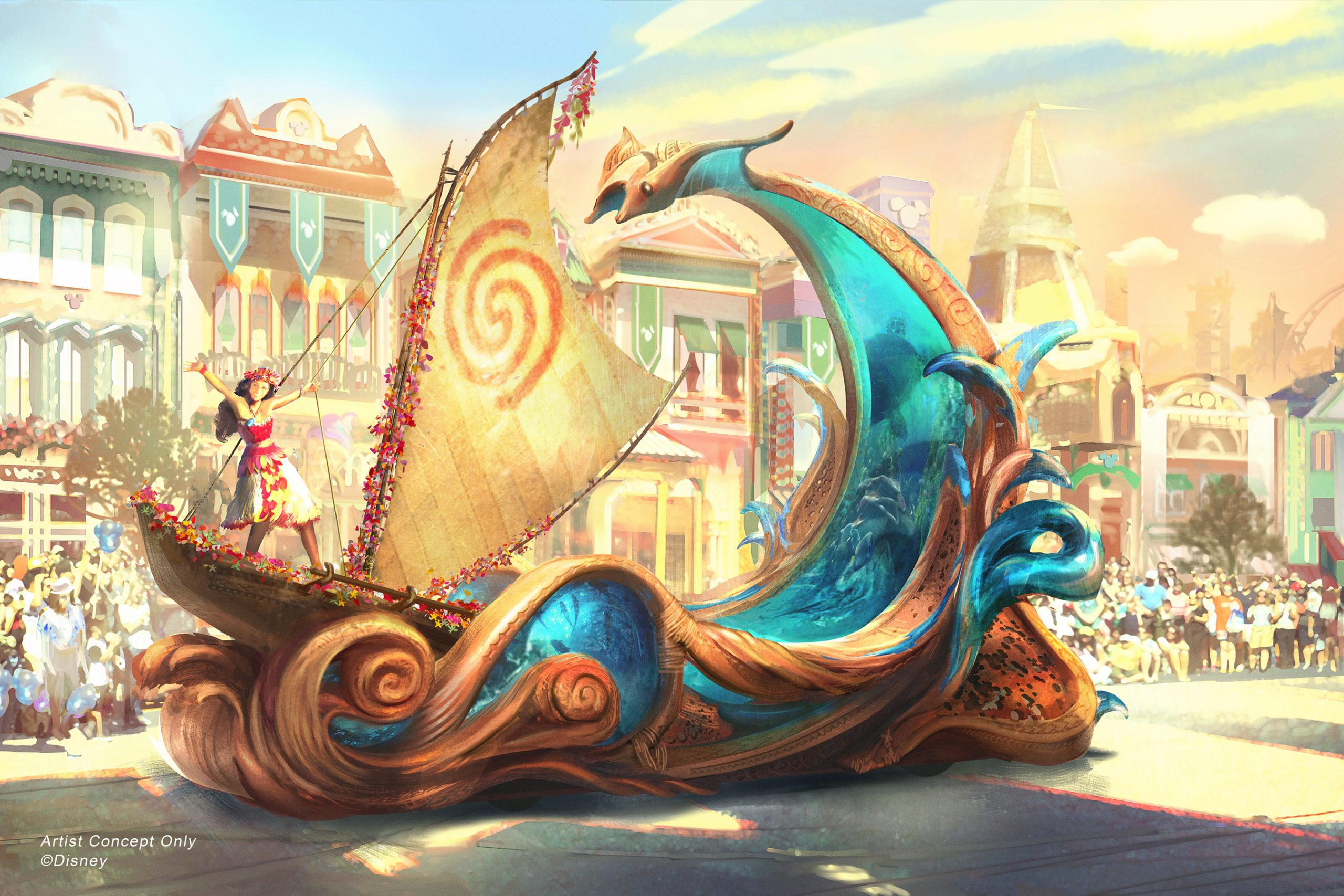 Disneyland news: announced at the d23 expo, the new Magic Happens parade will launch at Disneyland in the spring!