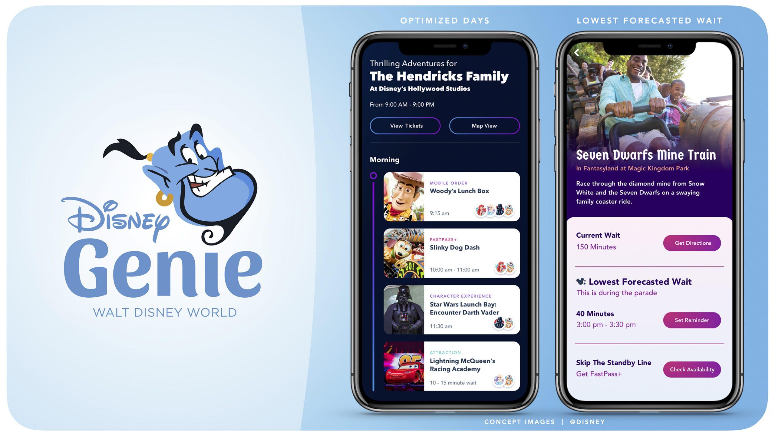 Disney Genie: the latest updates