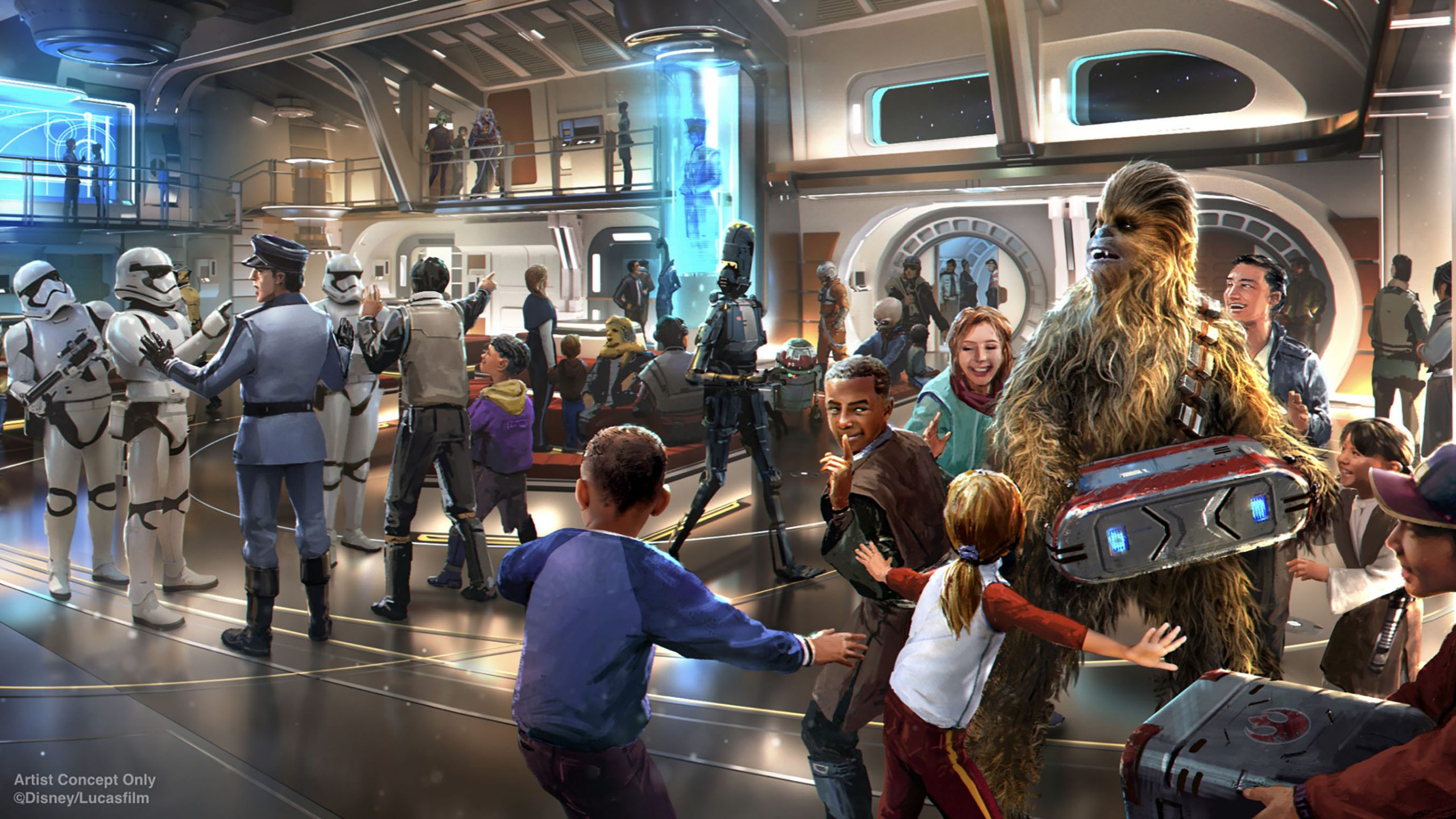 Star Wars Galactic Cruiser: the latest updates announced at the d23 expo