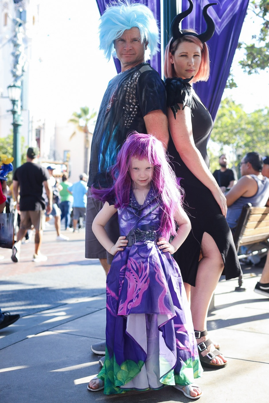 Planning a Descendants Family Halloween Costume? This one is EPIC!