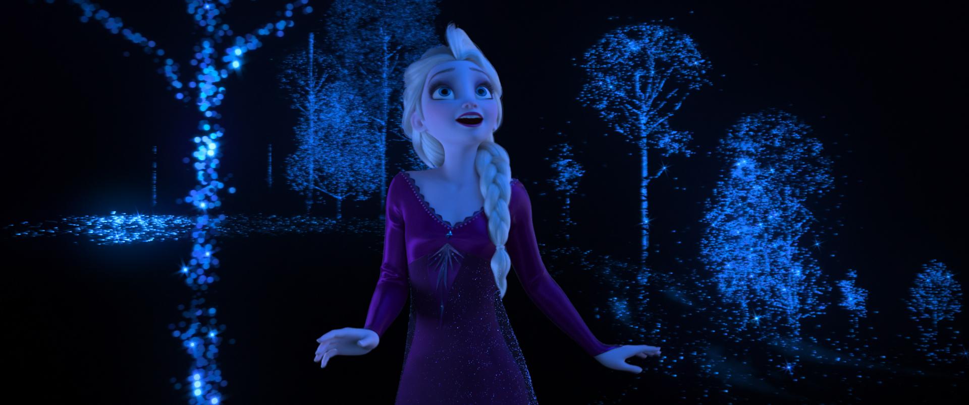 Breaking Frozen 2 news: Elsa wears PURPLE!
