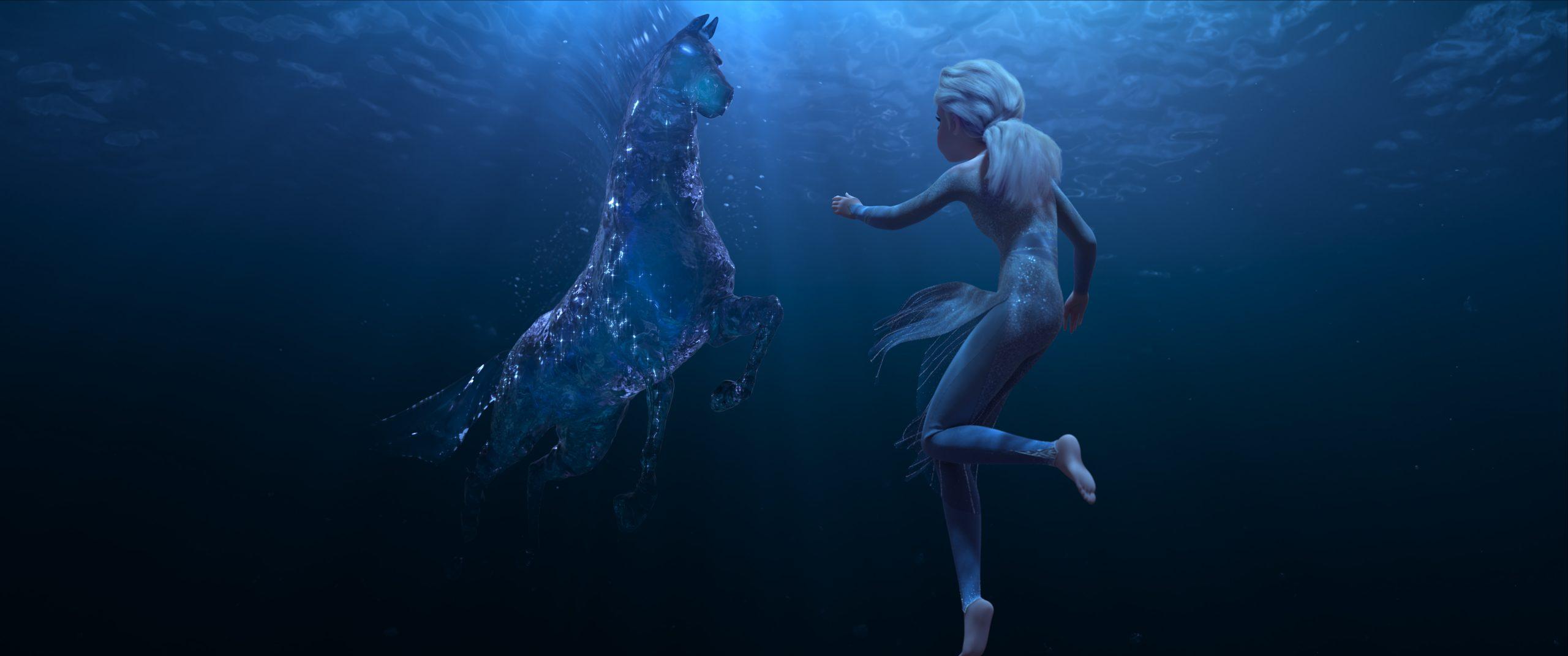 Frozen 2 Secrets: Elsa travels to the Dark Sea!