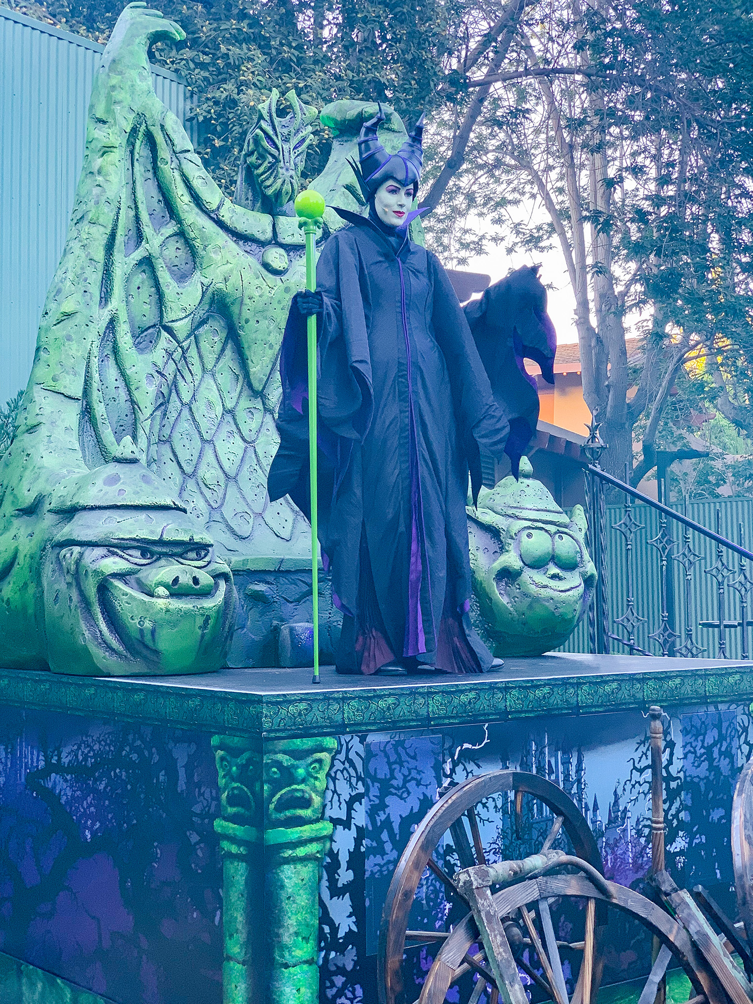Are you doing the Oogie Boogie Bash this year? The immersive treat trails are AMAZING!