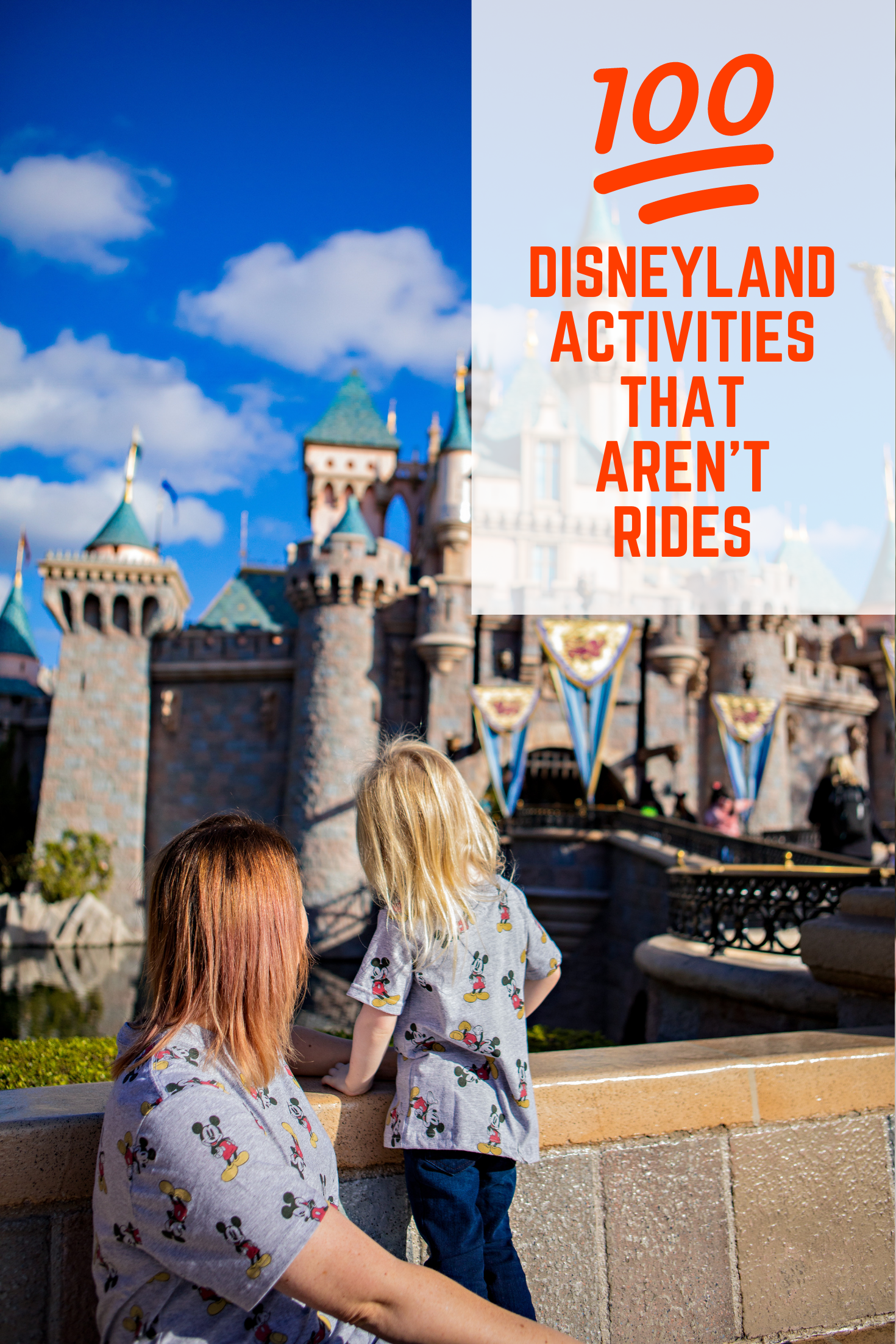 Wondering what you can do at Disneyland that isn't a ride? These Disneyland Secrets are the ticket, the list contains over 100 Disneyland Activities that AREN'T rides!