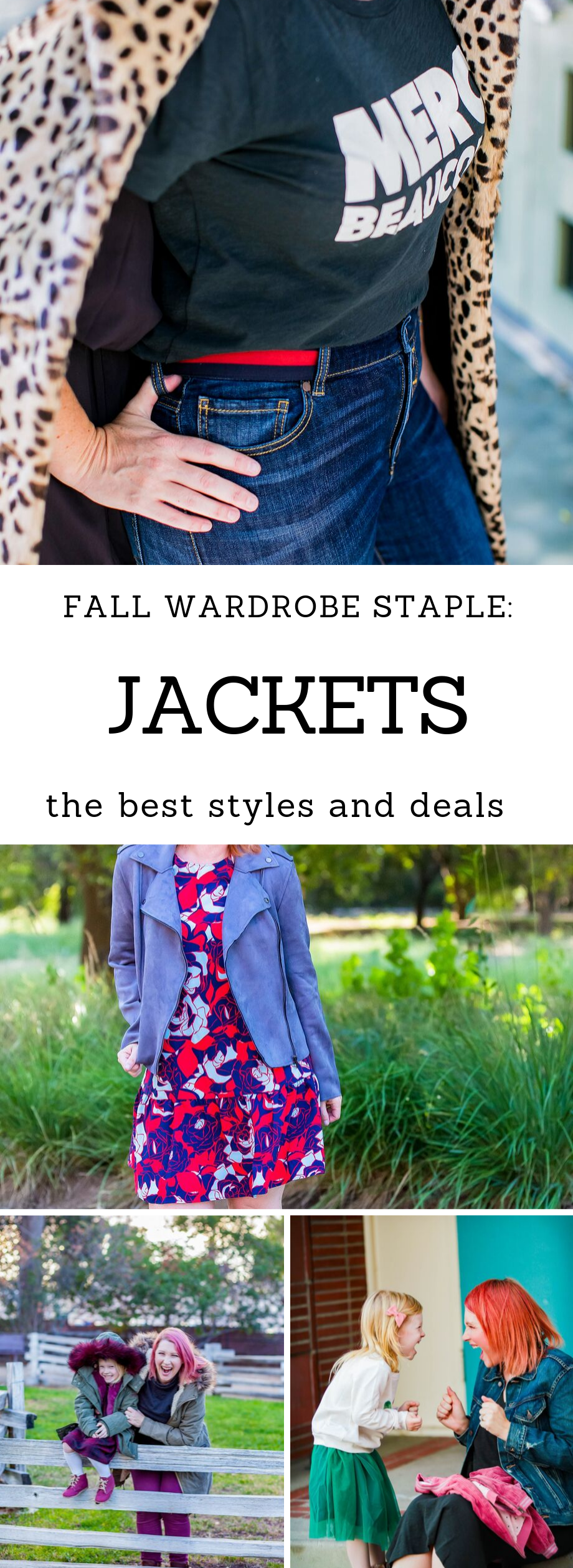 Looking for fall jackets? This is the ultimate guide to fall jacket styles (with some GREAT deals)!