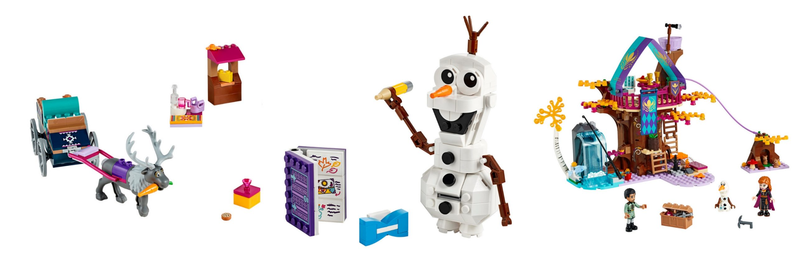 Frozen 2 Lego Sets: the best Frozen 2 merchandise