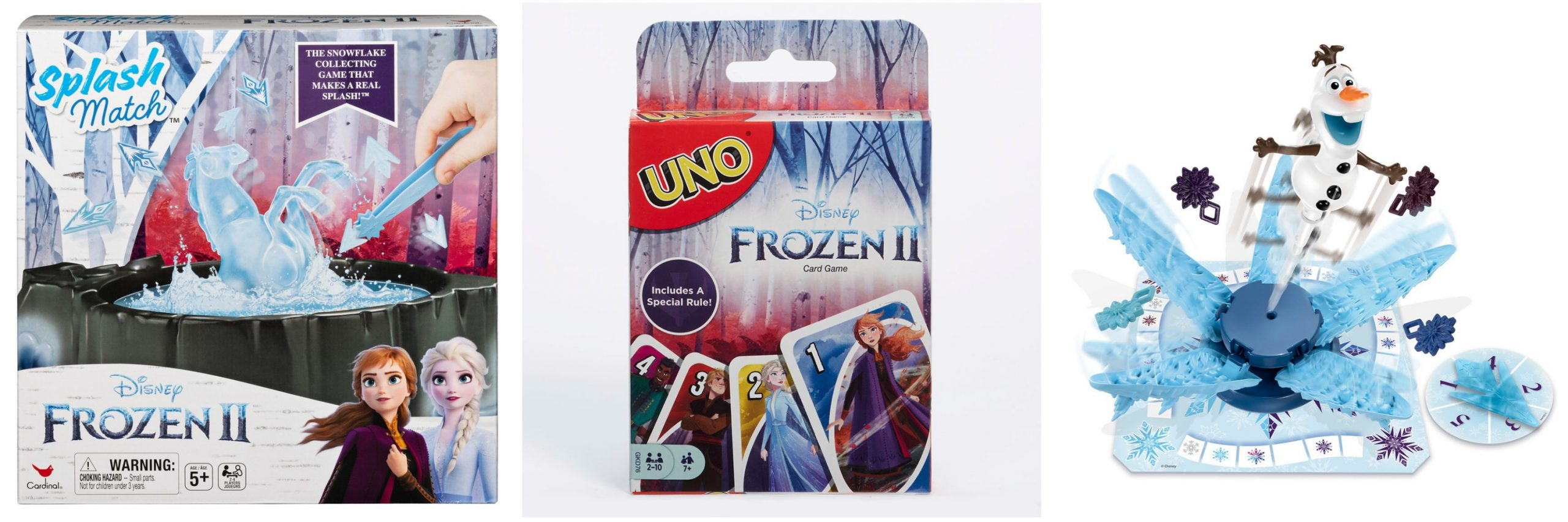 These Frozen 2 board games are great for family get togethers!