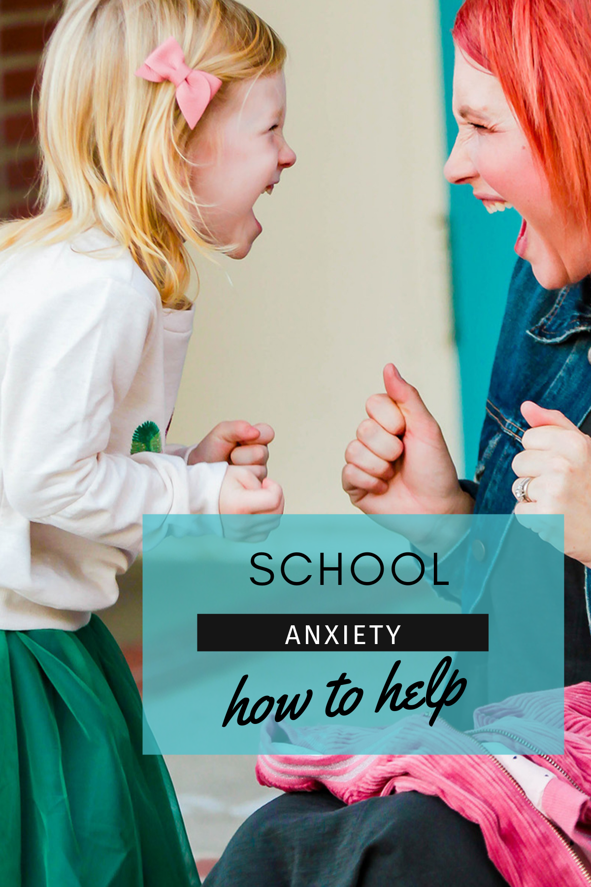 Is your child struggling with school anxiety? These tips from a teacher and behavior support specialist are SUPER helpful!