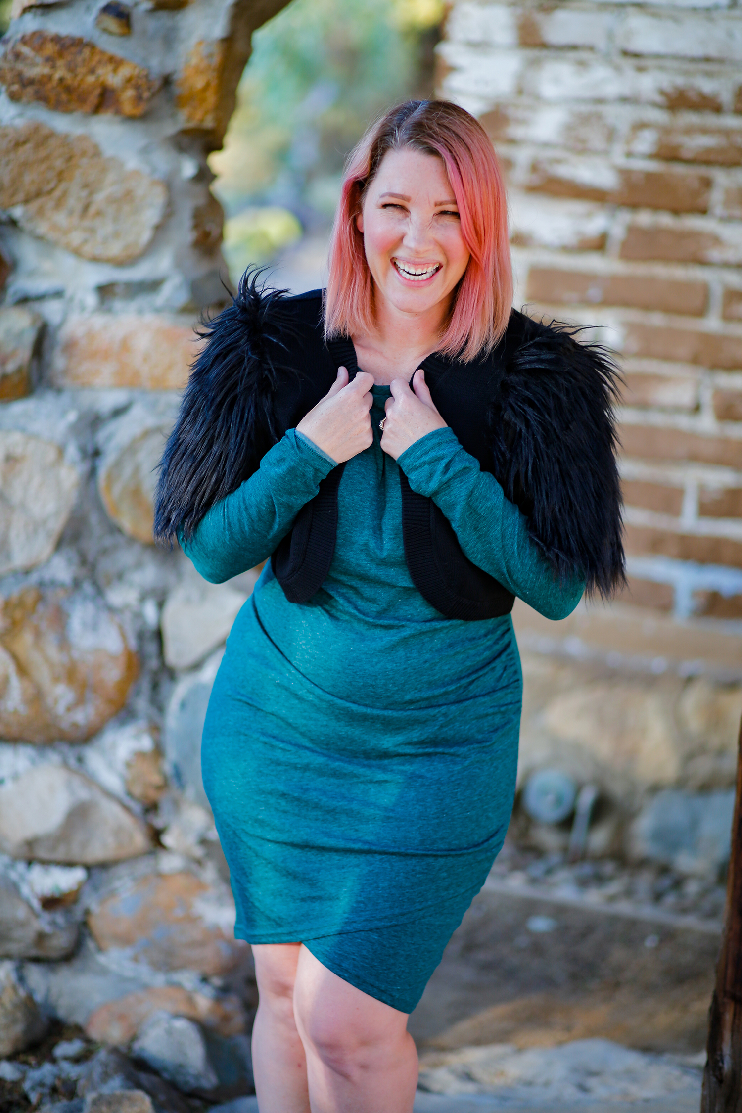Looking for the best long sleeve holiday dress? This is a total steal (and super flattering on all body types)!