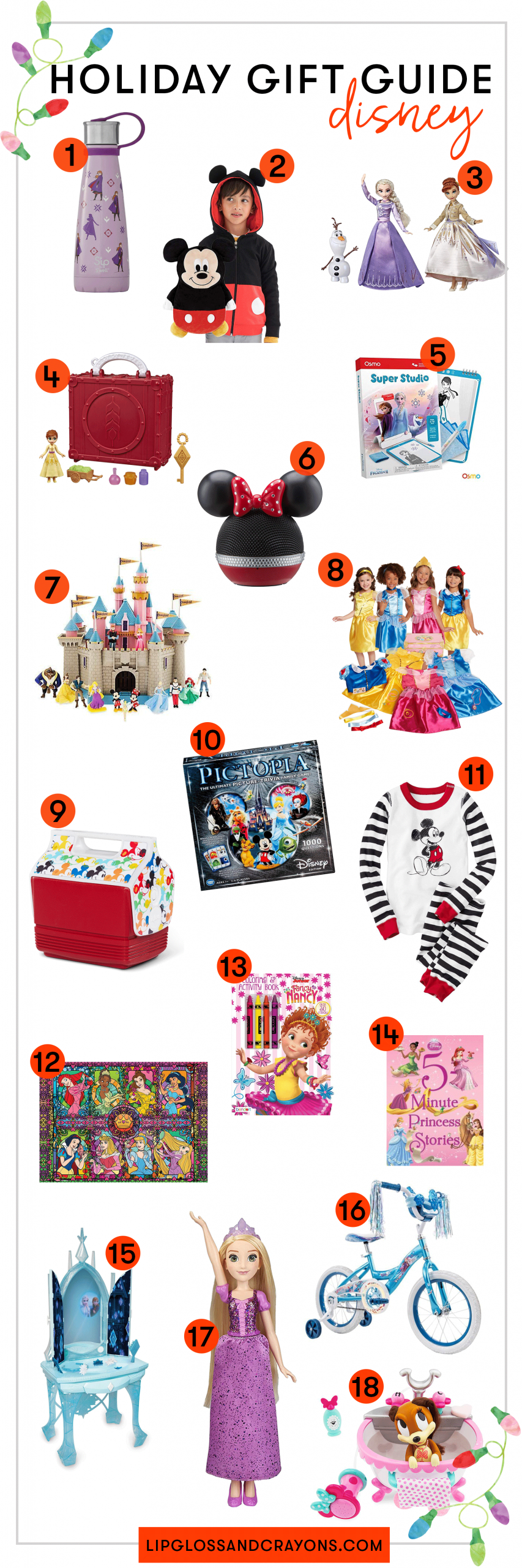 Looking for the best Disney themed holiday gifts? This ultimate Disney Gift Guide shares our favorite Disney present ideas!