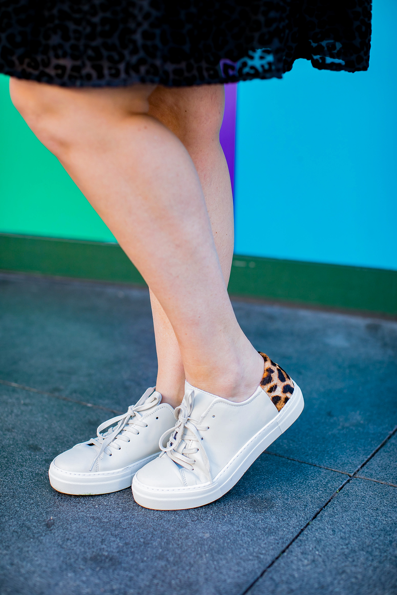 Looking for the best Golden Goose Dupes? These color blocked sneakers are versatile and easy to wear!