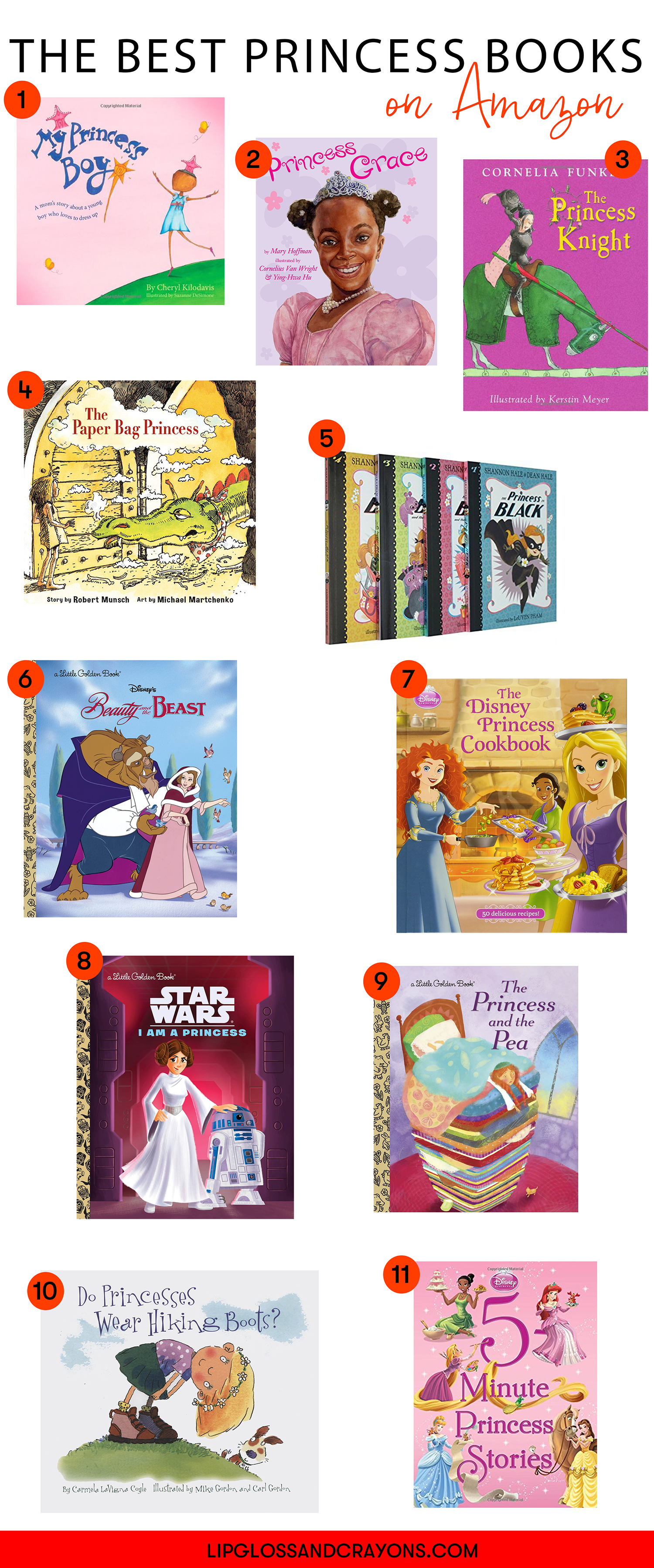 Let's talk princess books.  From the classic to the non-traditional, these princess books are must owns for every family!