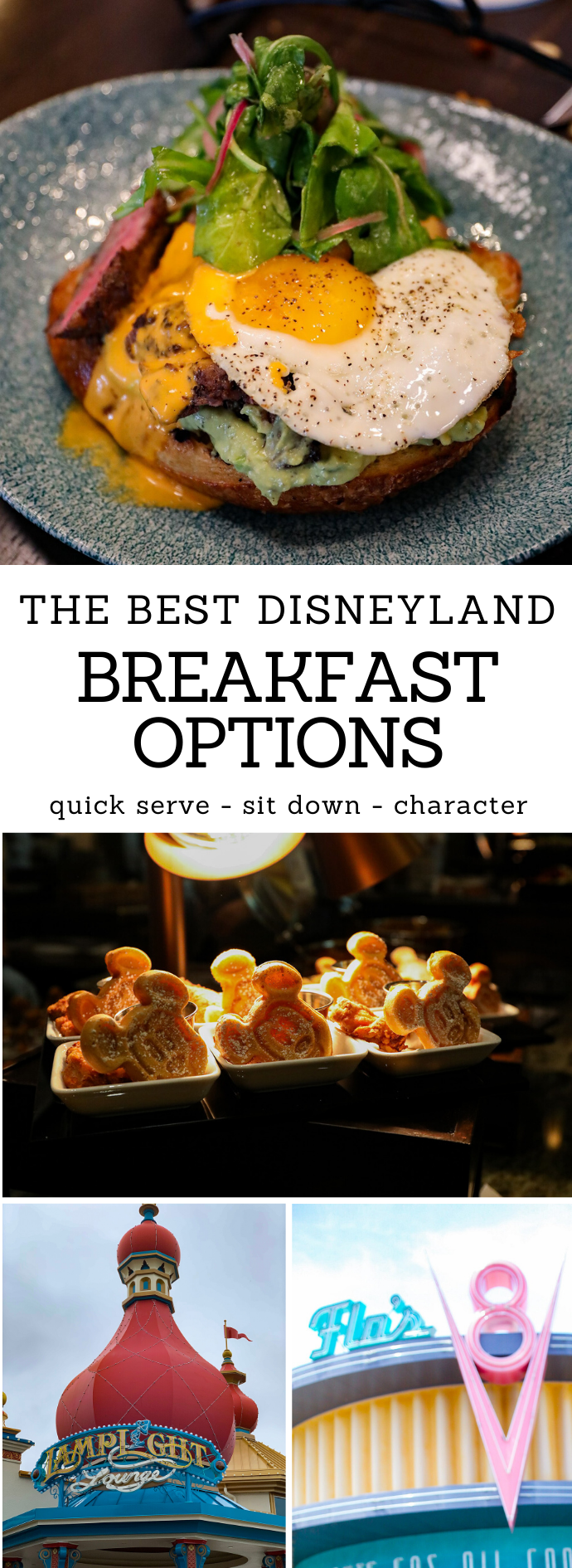 Heading to the Happiest Place on Earth? If you're getting to the park early, then breakfast is going to be first on your agenda.  These are the BEST Disneyland Breakfast Options!
