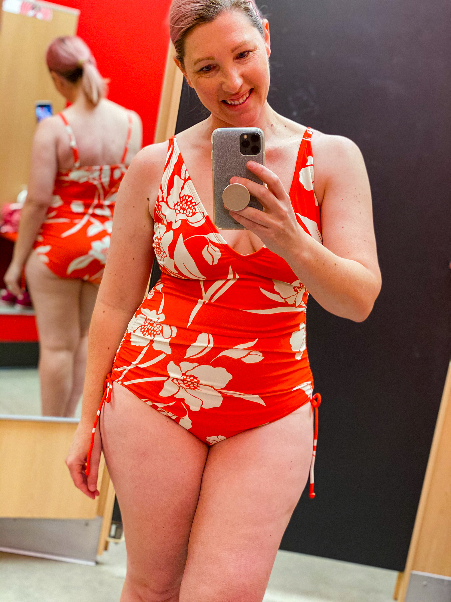 Looking for the Best Bathing Suits Target has for 2020? These suits are flattering to both your pear shaped body and your bank account!