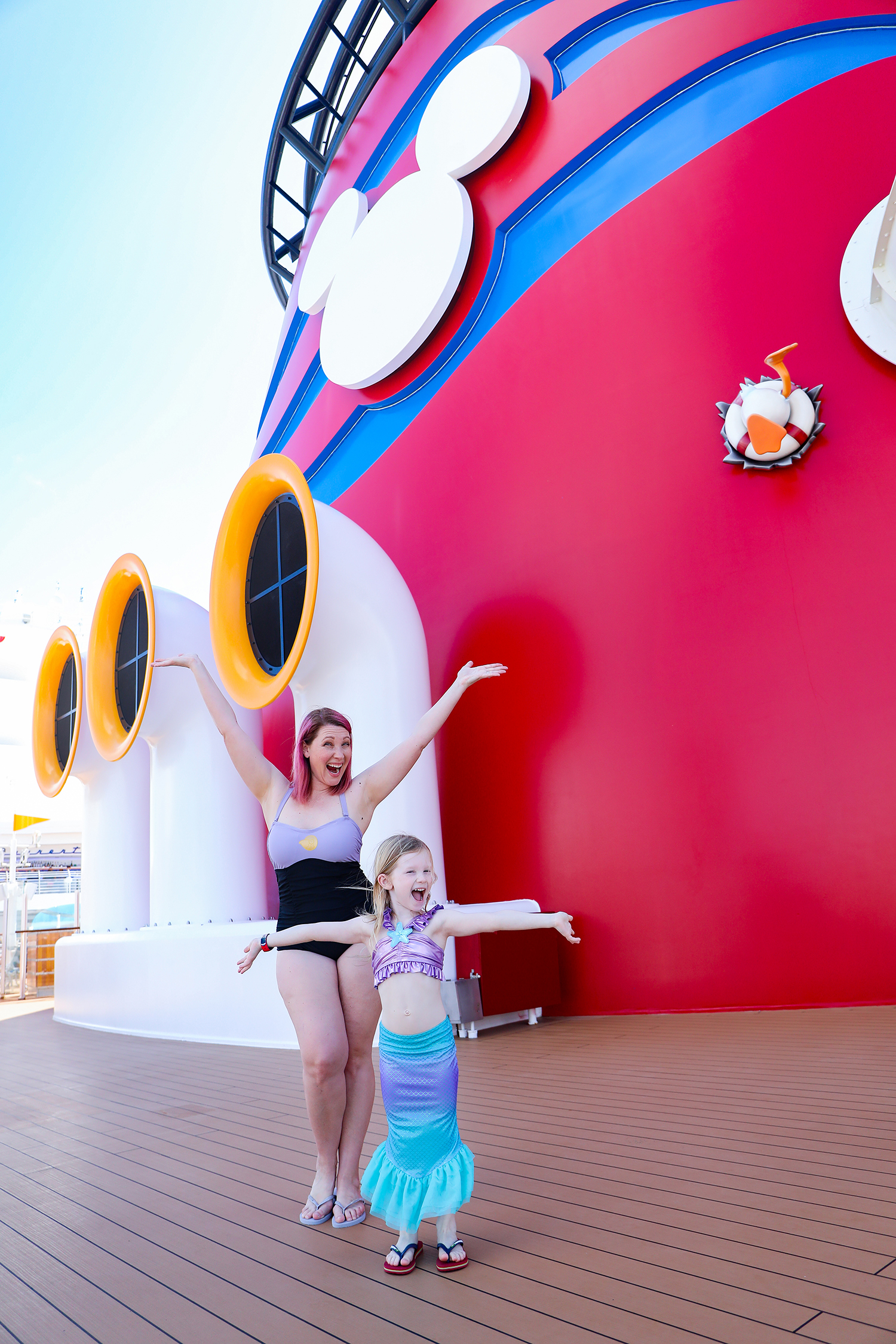 Disney Cruise Outfits: These Disney Bathing Suits are PERFECT!