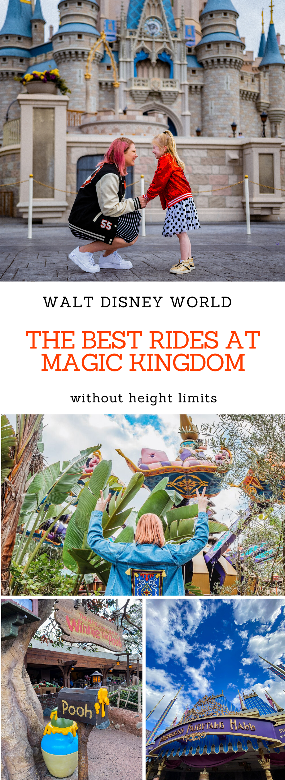 Looking for the Best Rides at Magic Kingdom that every member of the family can enjoy? These are your best options with low height limits!